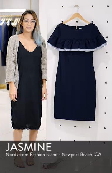 Ruffle Detail Sheath Dress, sales video thumbnail