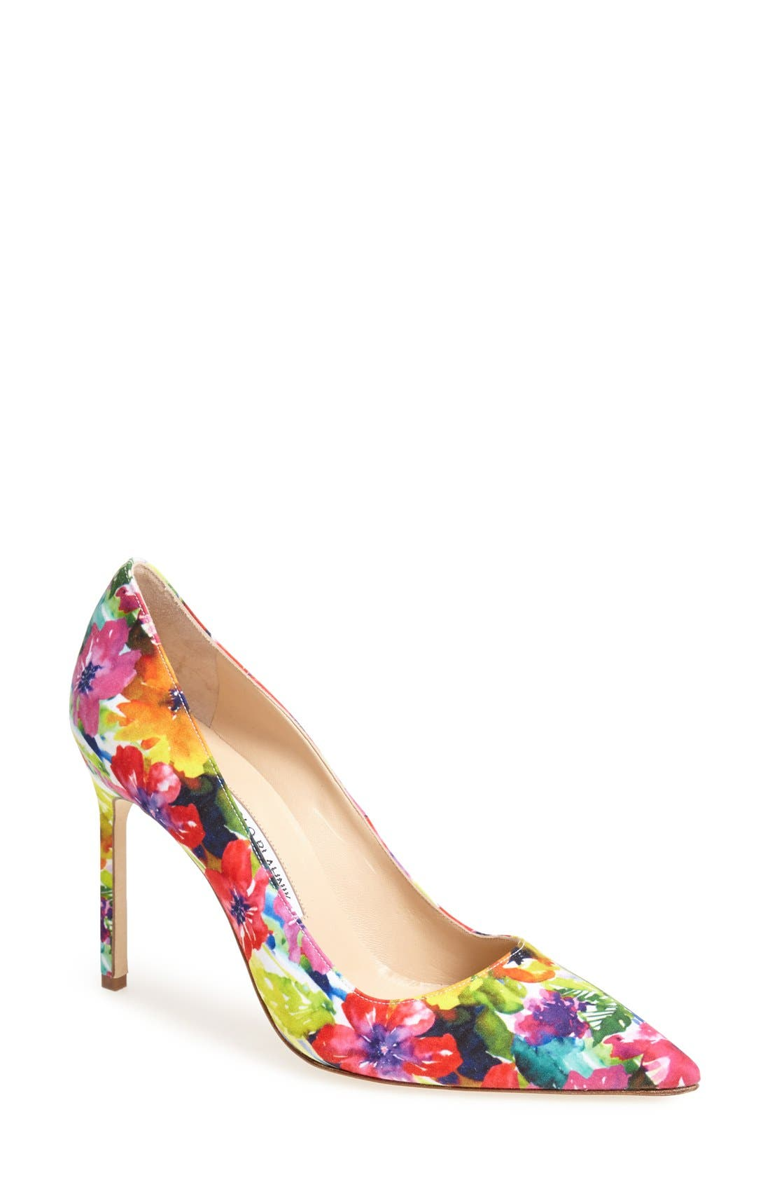 MANOLO BLAHNIK, 'BB' Pump, Main thumbnail 1, color, 650