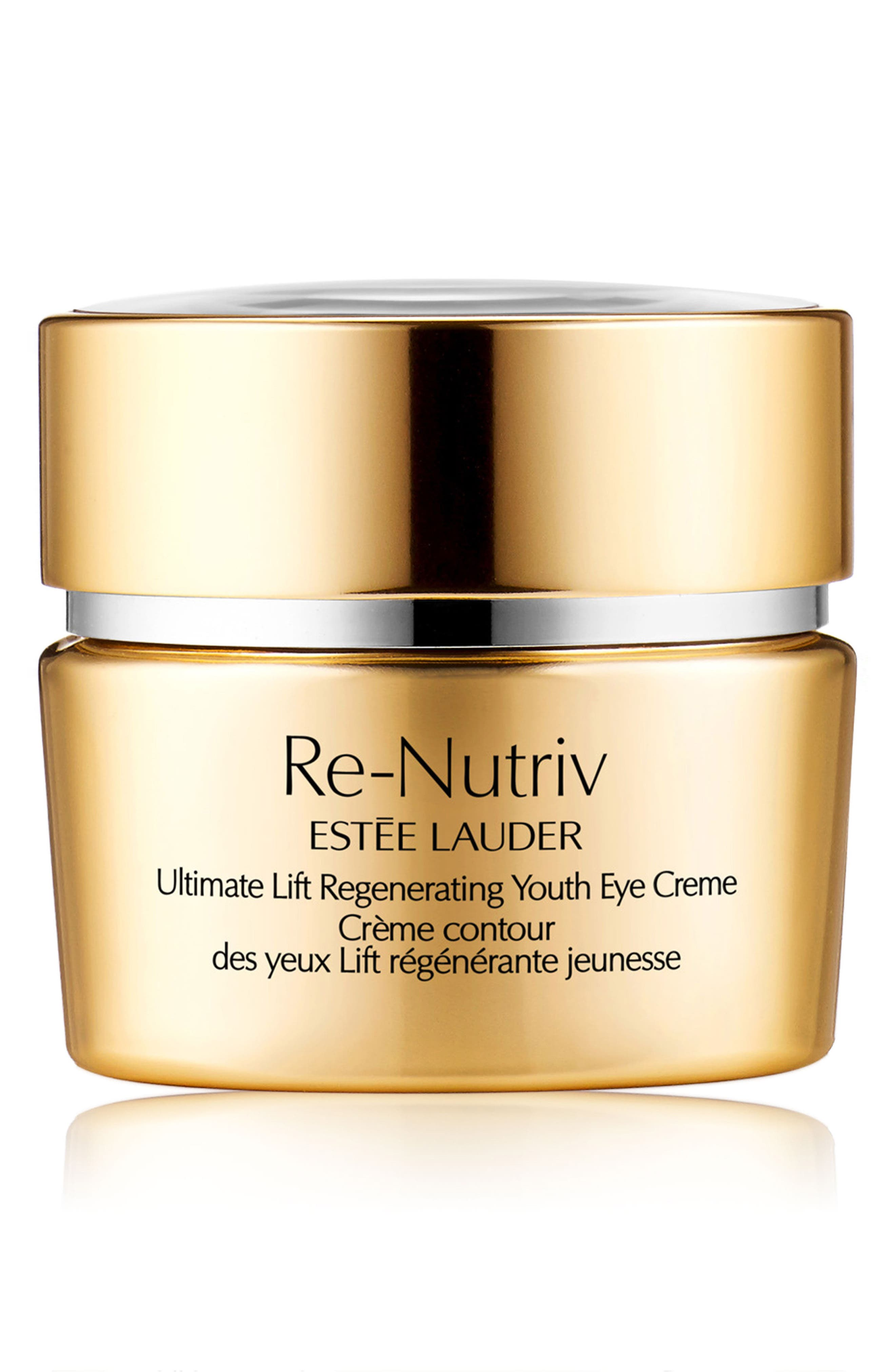 ESTÉE LAUDER Re-Nutriv Ultimate Lift Regenerating Youth Eye Creme, Main, color, NO COLOR