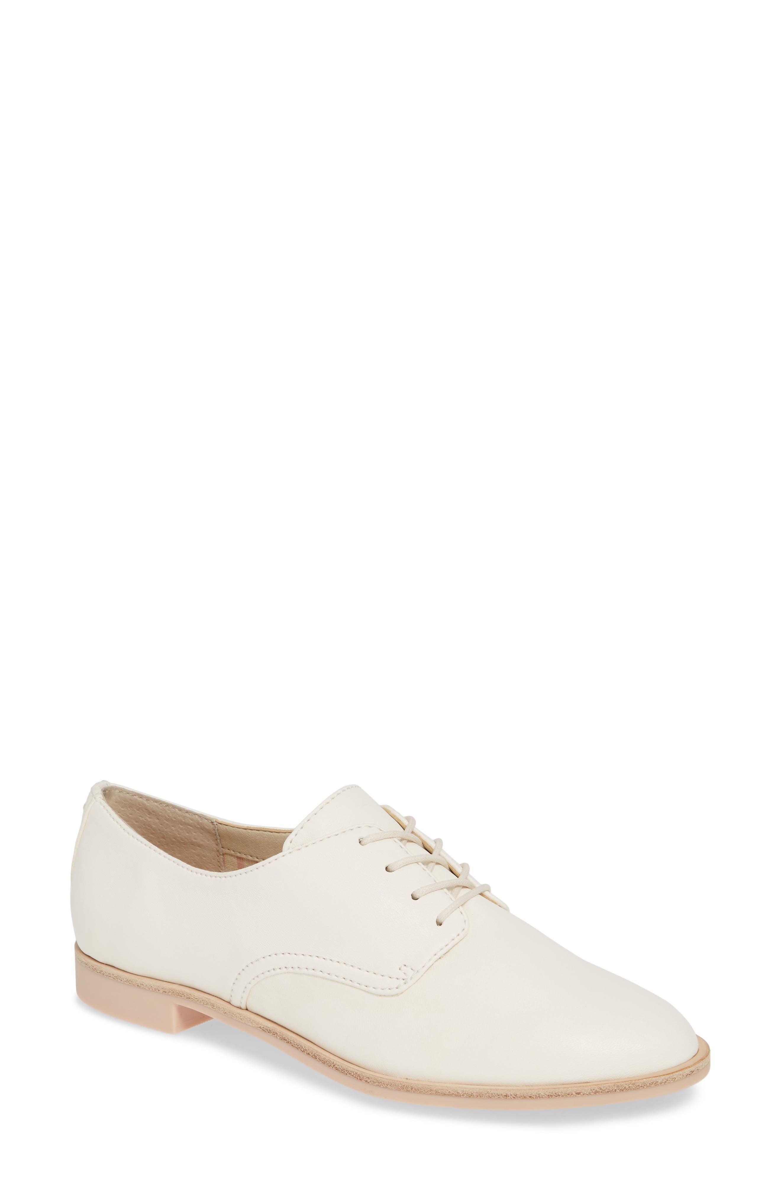 DOLCE VITA, Kyle Derby, Main thumbnail 1, color, OFF WHITE LEATHER