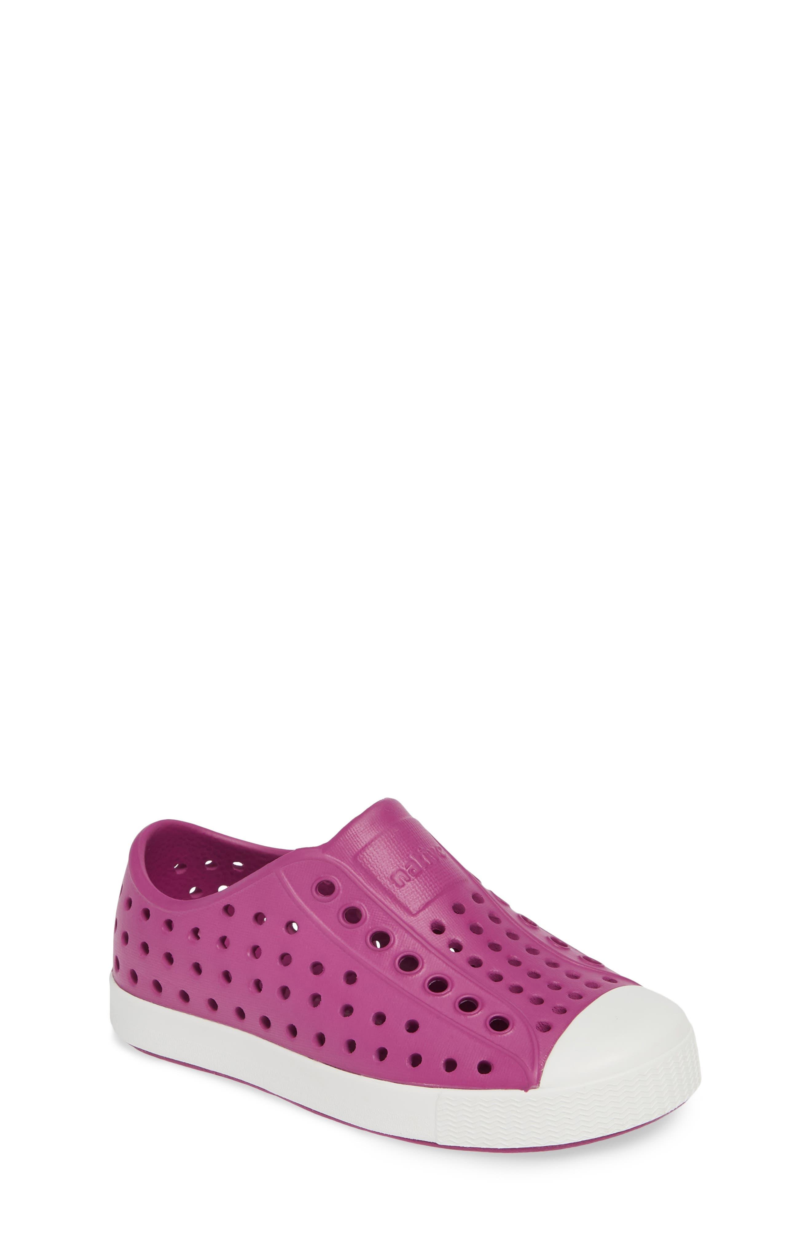 Toddler Native Shoes Jefferson Water Friendly SlipOn Vegan Sneaker Size 8 M  Purple