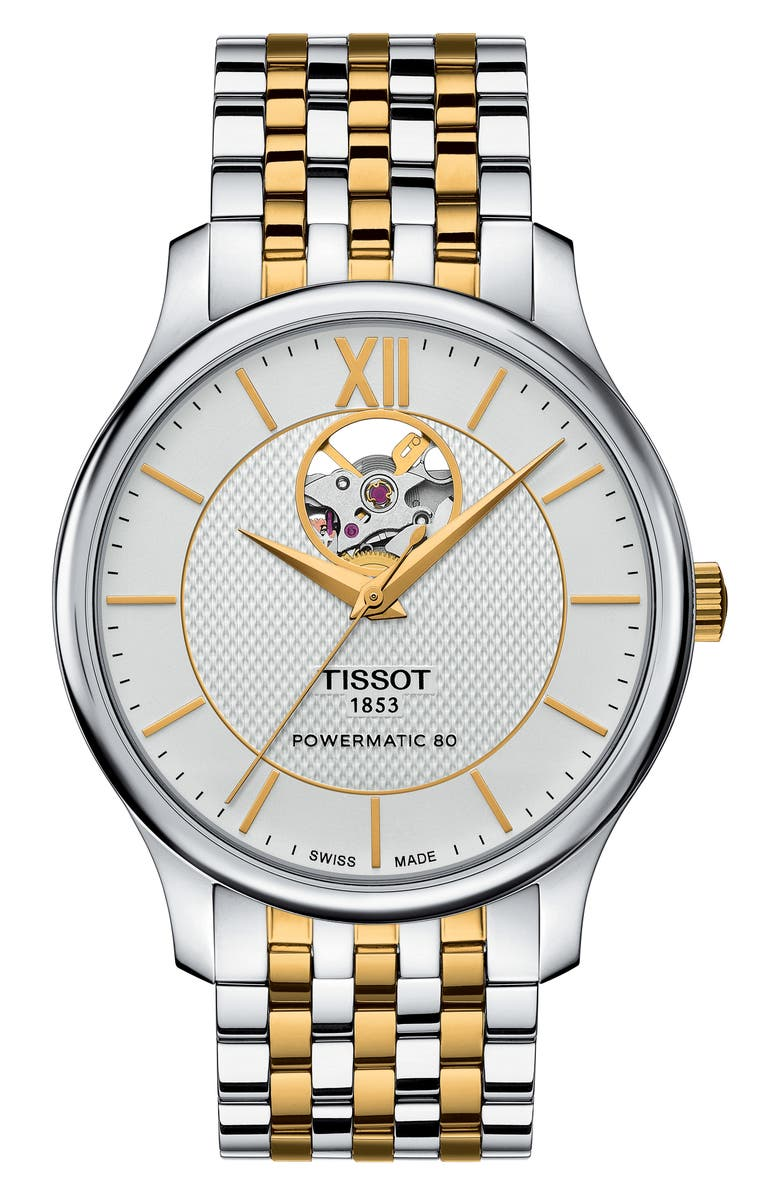Tissot Watches TRADITION BRACELET WATCH, 40MM