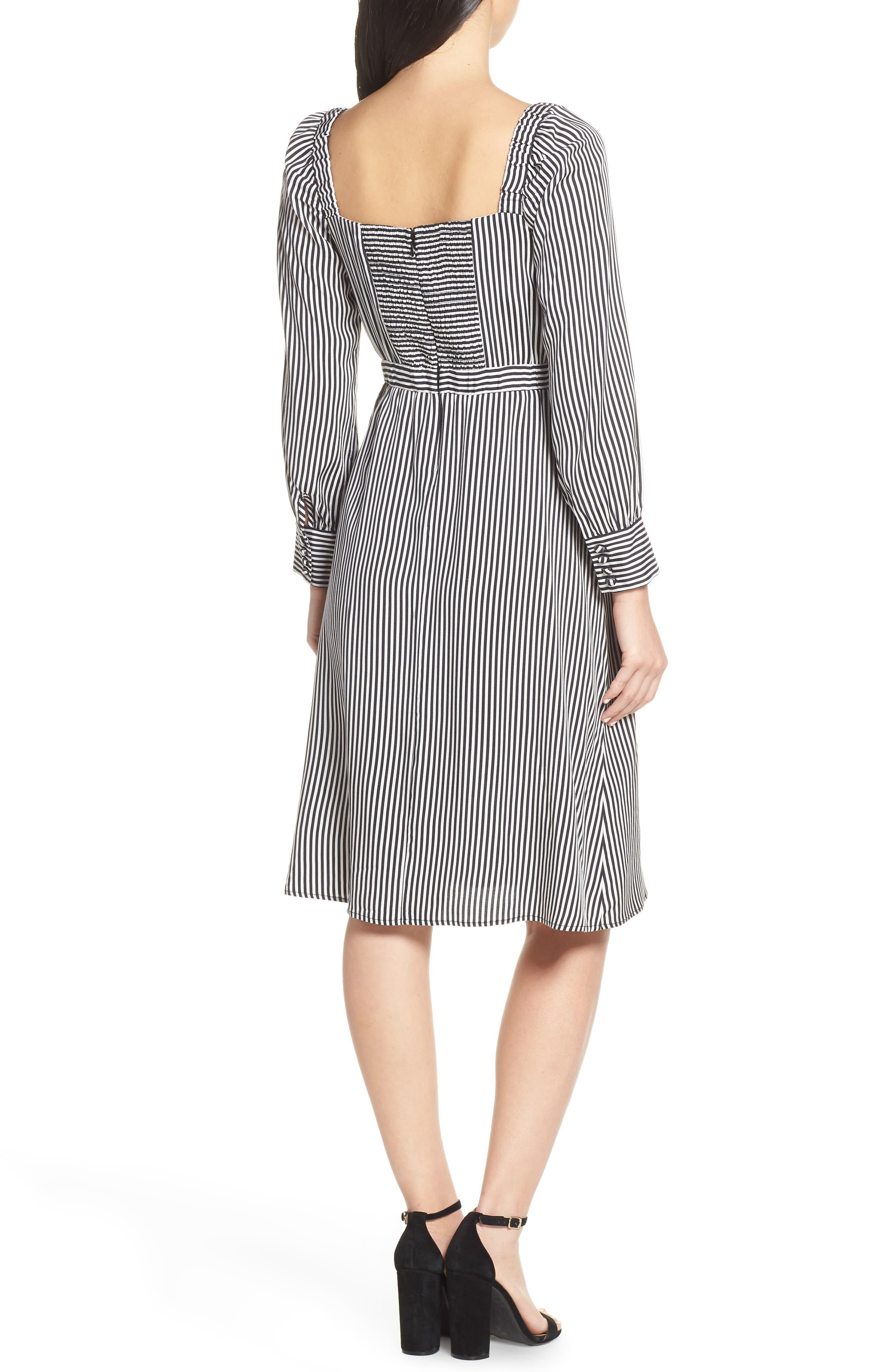 ALI & JAY, Take Me Downtown Stripe Dress, Alternate thumbnail 2, color, 001