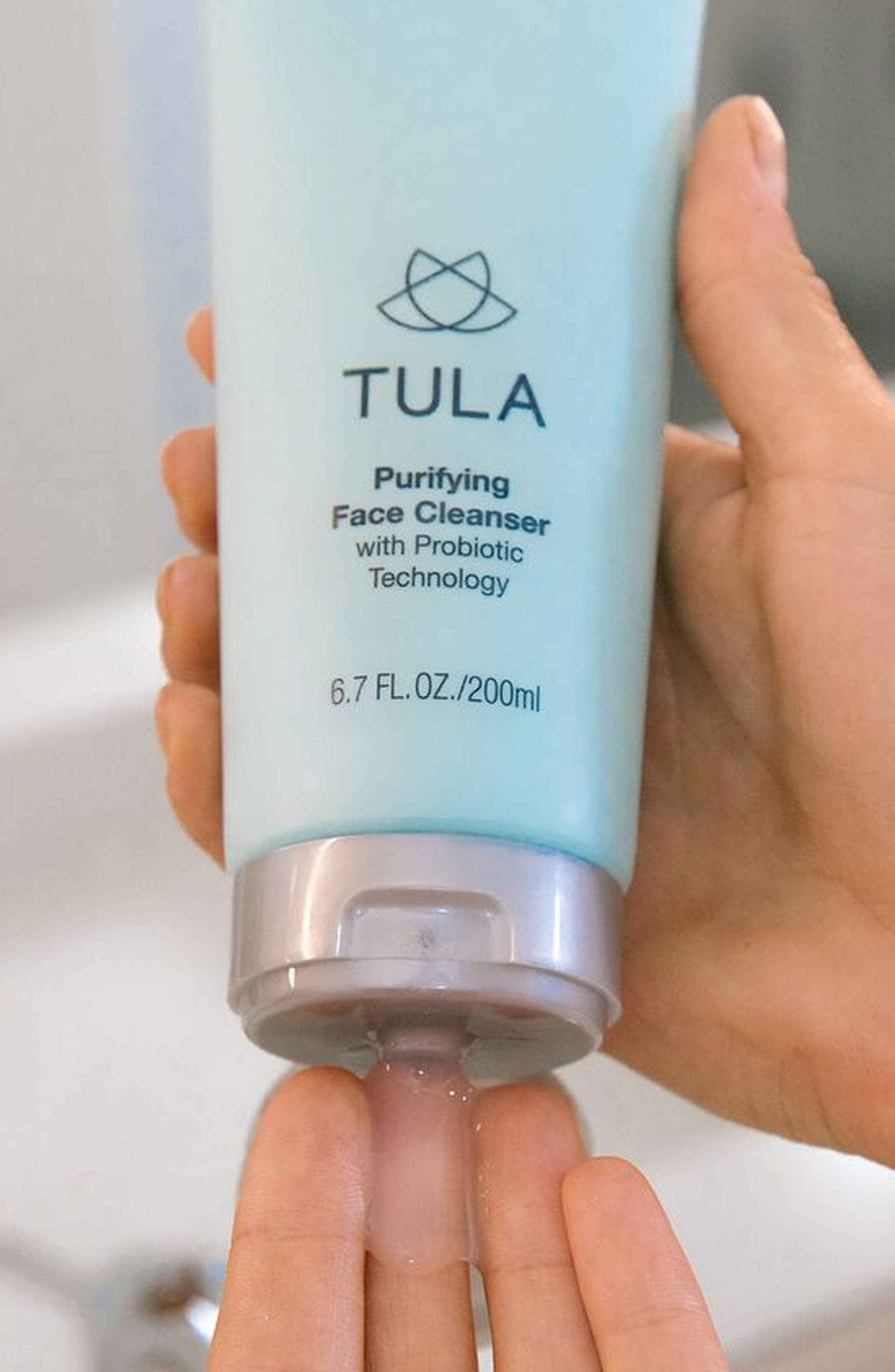 TULA PROBIOTIC SKINCARE, Purifying Face Cleanser, Alternate thumbnail 3, color, NO COLOR
