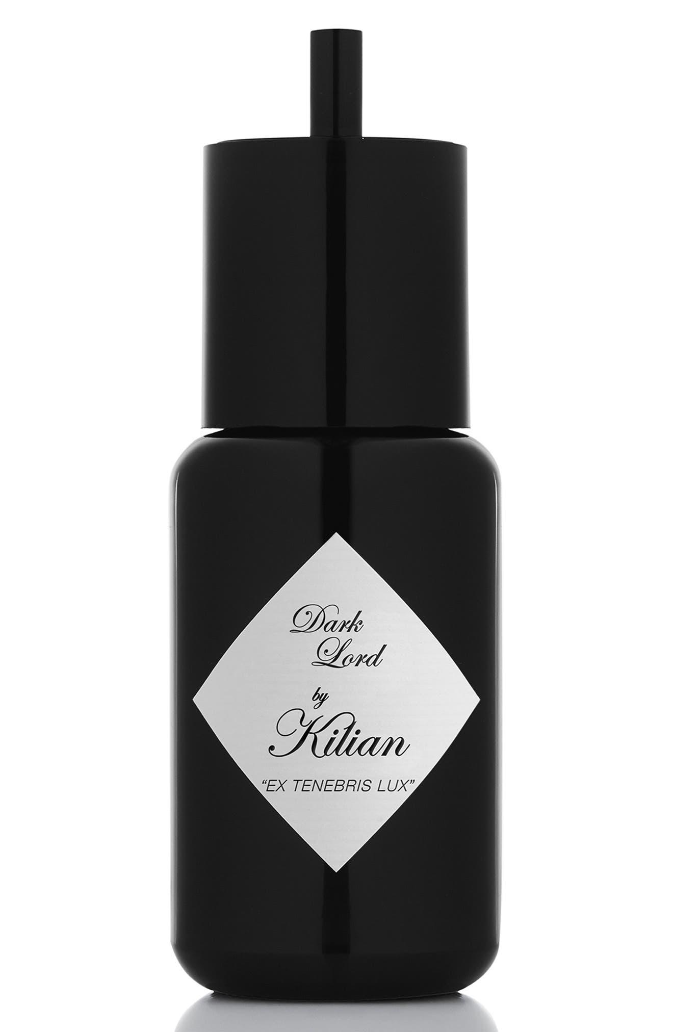 KILIAN, Dark Lord Ex Tenebris Lux Refillable Fragrance Spray, Alternate thumbnail 6, color, NO COLOR