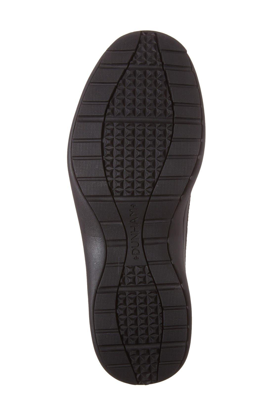 DUNHAM, Simon-Dun Waterproof Boot, Alternate thumbnail 4, color, BLACK LEATHER