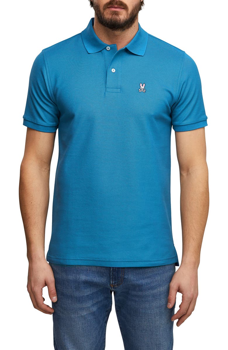 Psycho Bunny Tops THE CLASSIC SLIM FIT PIQUE POLO