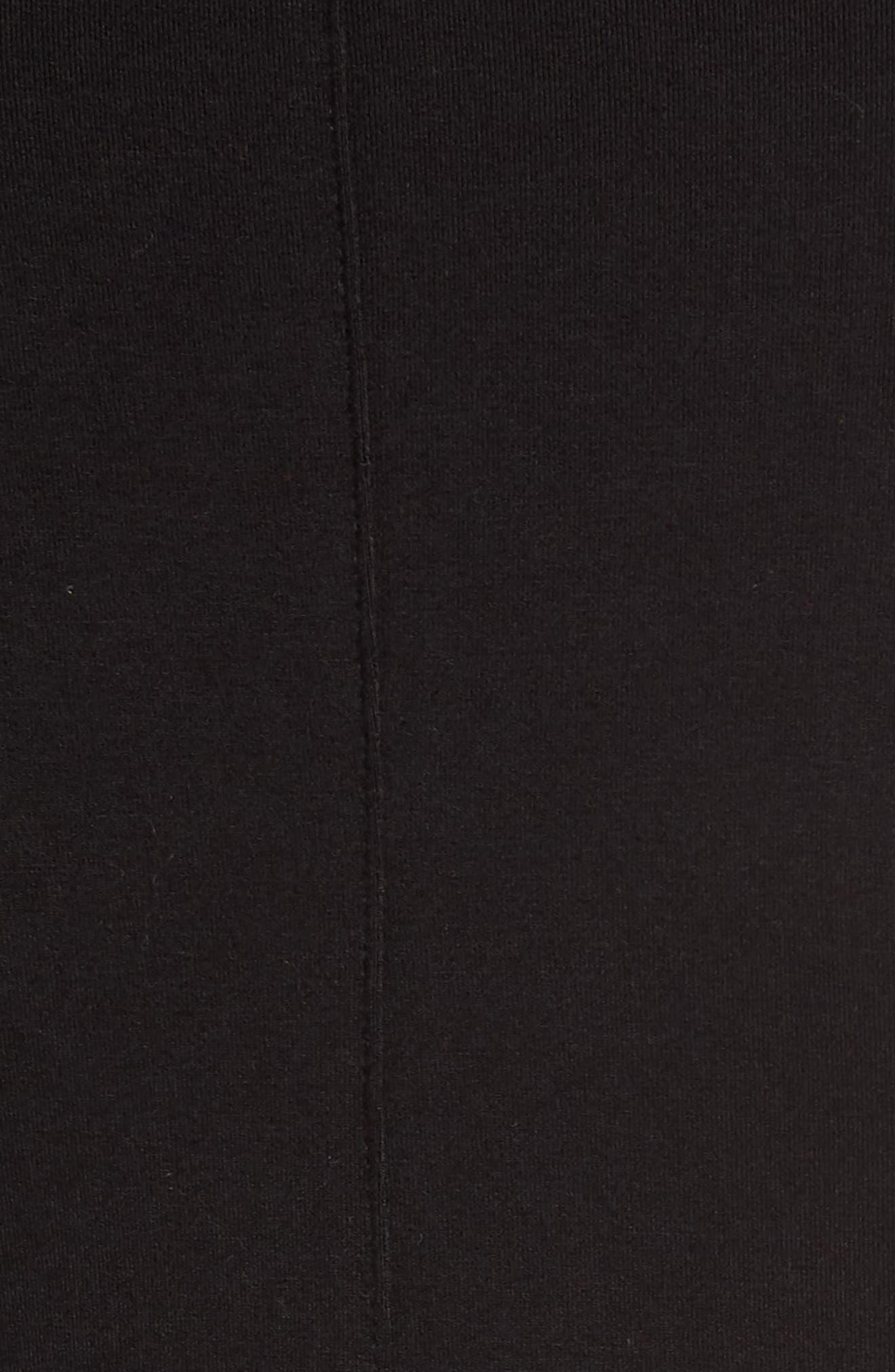 HALOGEN<SUP>®</SUP>, Surplice Knit Top, Alternate thumbnail 5, color, 001