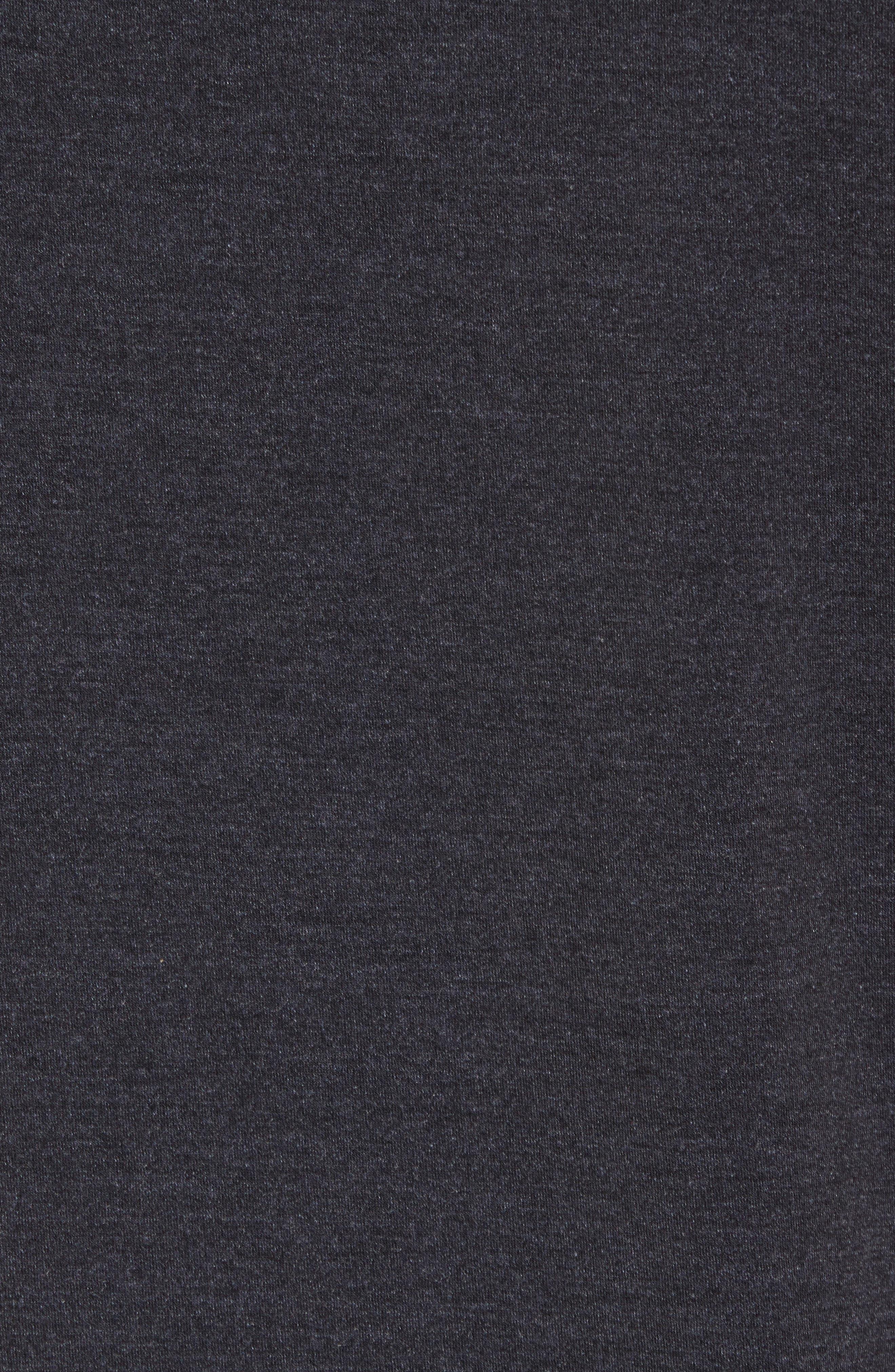 NIKE, Dry Training Day Sleeveless Hoodie, Alternate thumbnail 5, color, BLACK/ BLACK/ WHITE/ HEMATITE