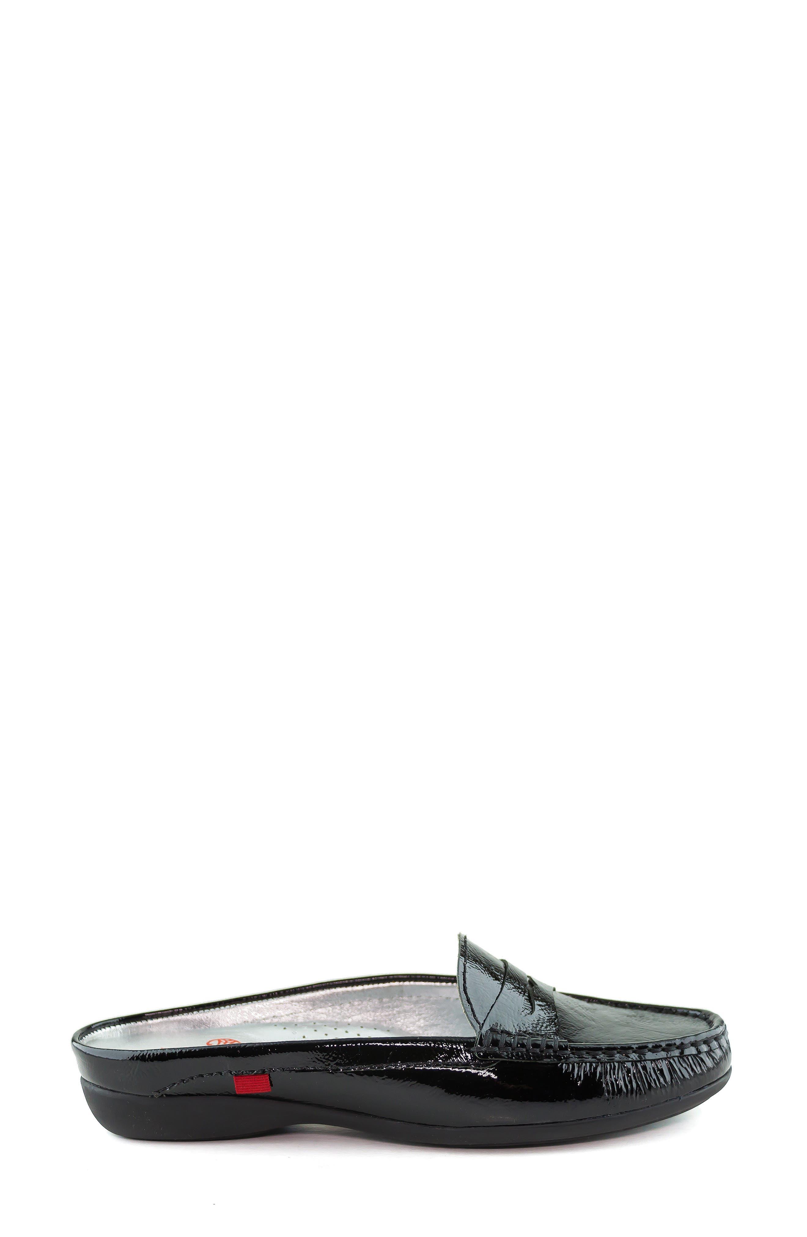 MARC JOSEPH NEW YORK, Union Street Mule, Alternate thumbnail 3, color, BLACK PATENT