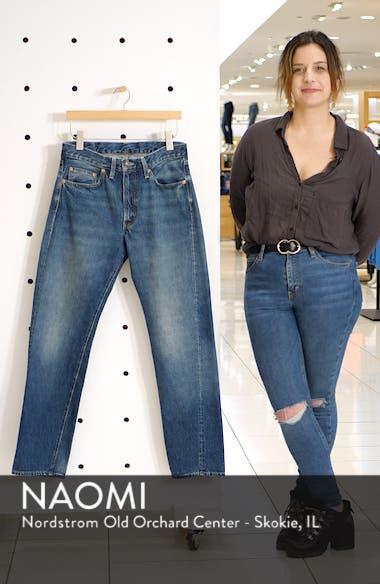 1954 501<sup>®</sup> Straight Leg Jeans, sales video thumbnail