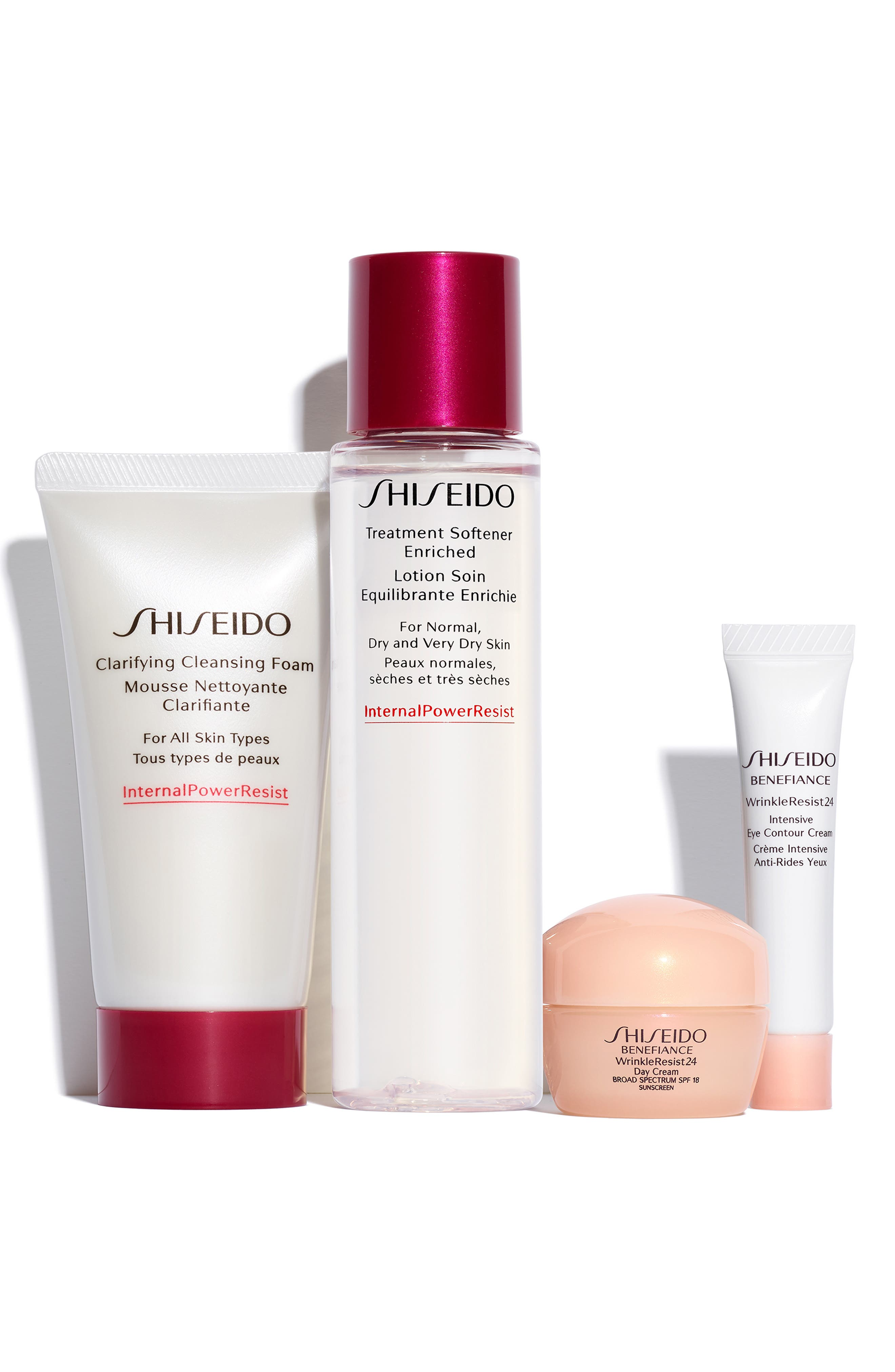 SHISEIDO, The Benefiance Age-Defense Set, Main thumbnail 1, color, NO COLOR