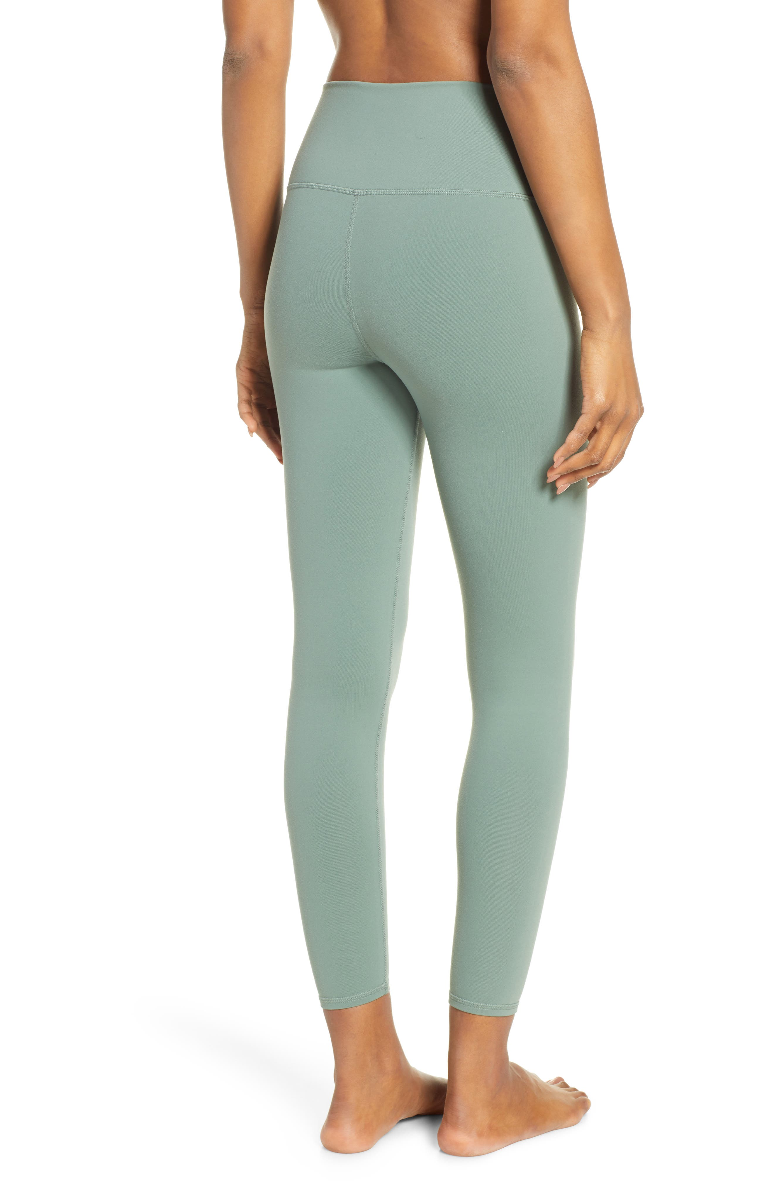 ALO, Airbrush 7/8 High Waist Leggings, Alternate thumbnail 2, color, 363