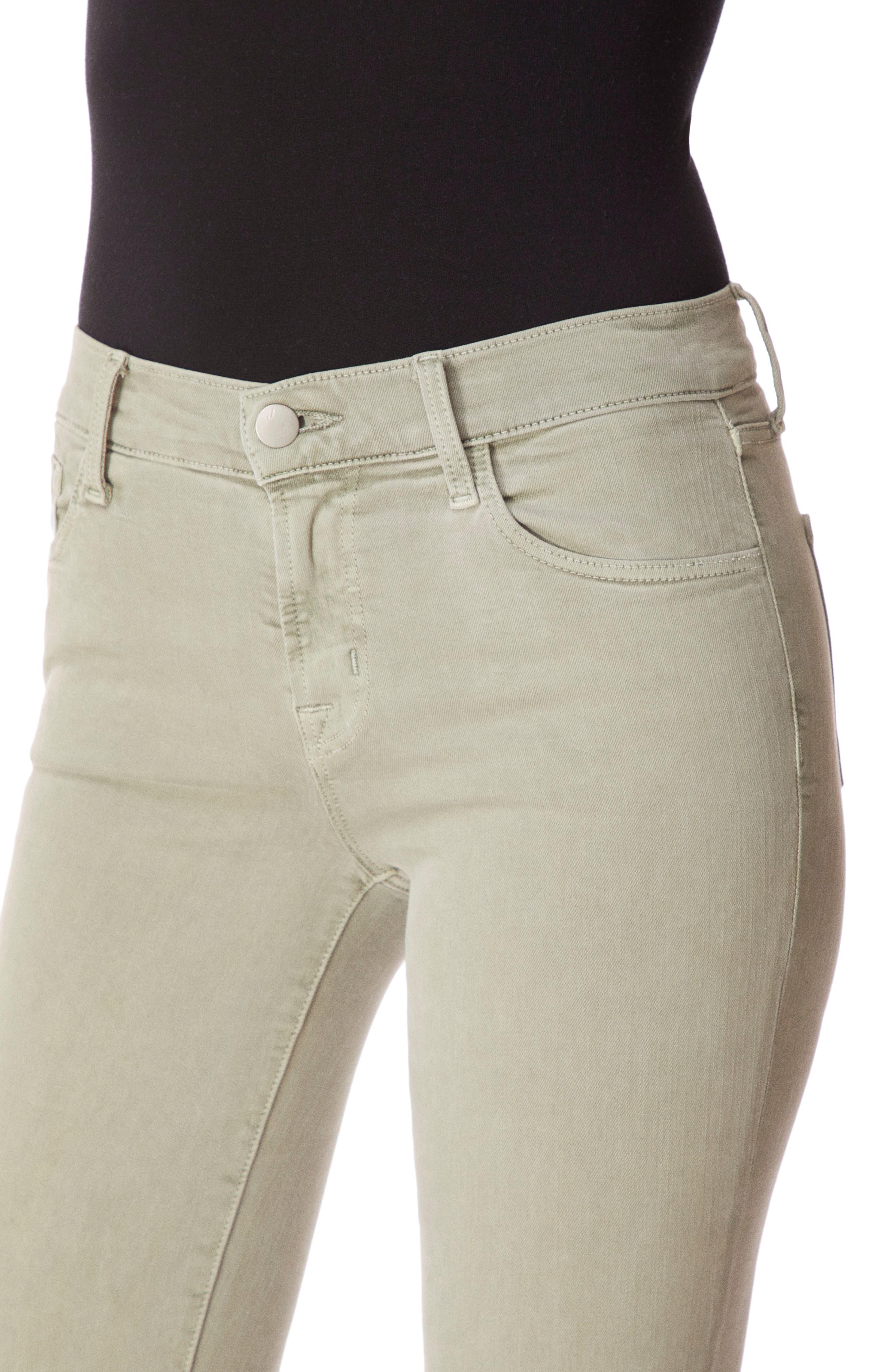 J BRAND, 835 Capri Skinny Jeans, Alternate thumbnail 5, color, FADED GIBSON DESTRUCT