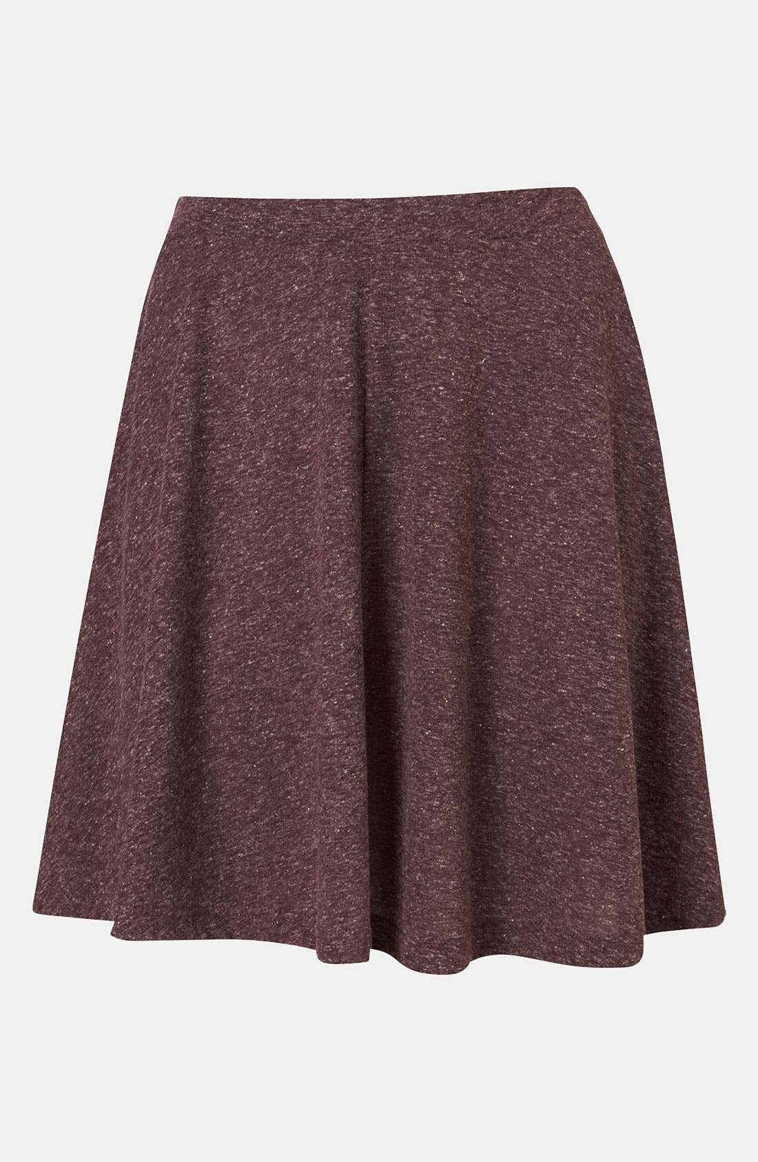 TOPSHOP 'Andie' Skater Skirt, Main, color, 602