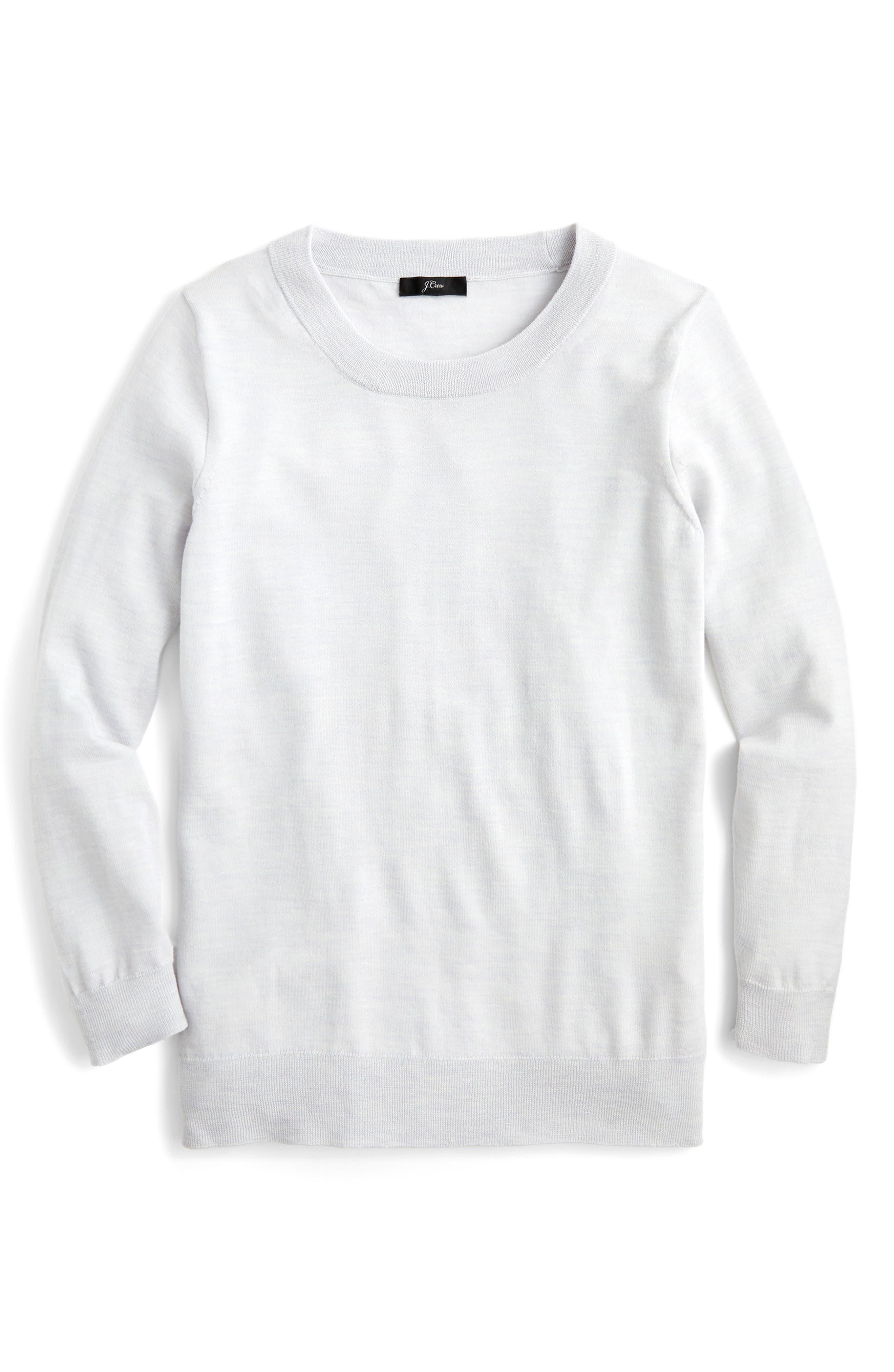 Plus Size J.crew Tippi Merino Wool Sweater, Size - Grey