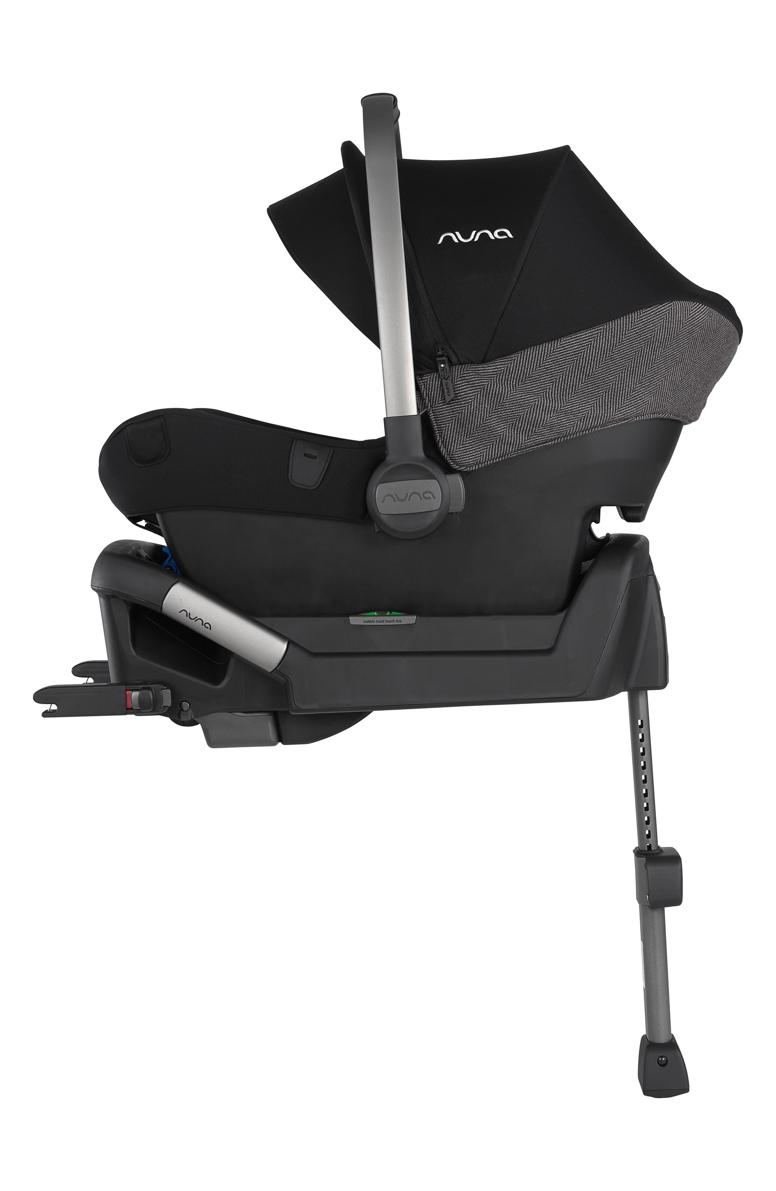NUNA, 2019 MIXX<sup>™</sup> Stroller & PIPA<sup>™</sup> Lite LX Infant Car Seat Set Travel System, Alternate thumbnail 9, color, VERONA CAVIAR