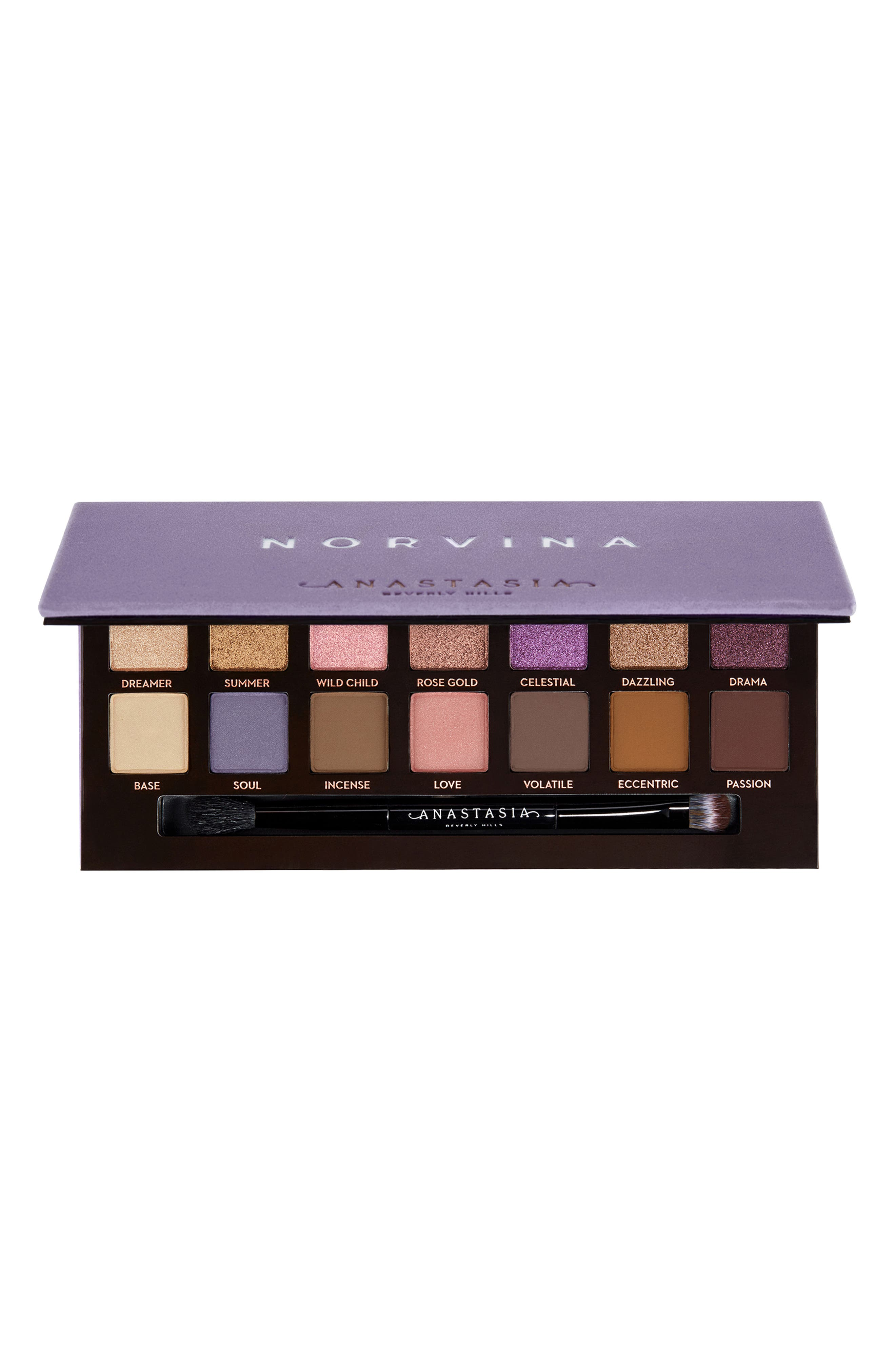 ANASTASIA BEVERLY HILLS Norvina Eyeshadow Palette, Main, color, NO COLOR
