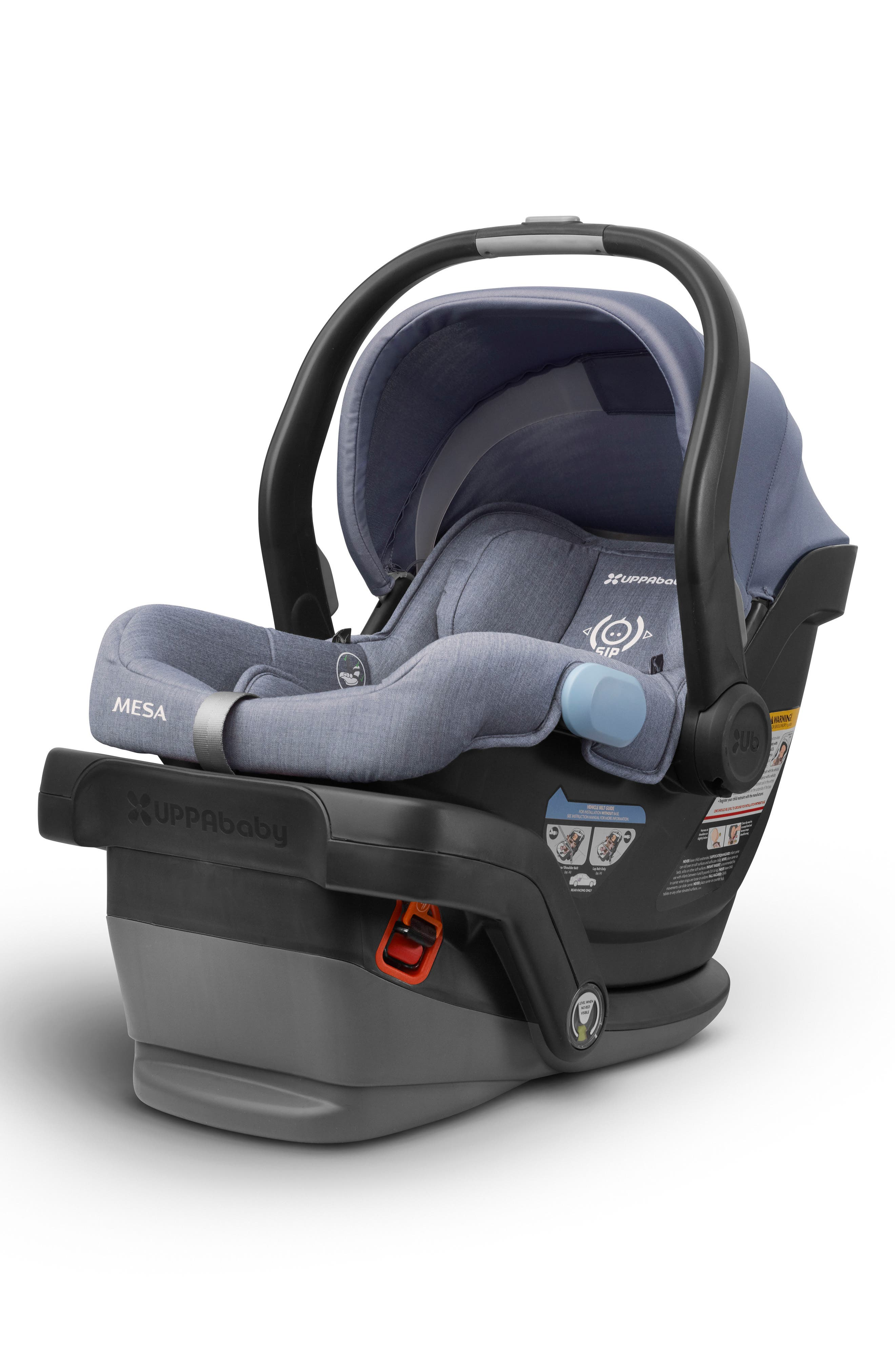 UPPABABY, MESA Henry Special Edition Car Seat, Alternate thumbnail 2, color, BLUE MARL