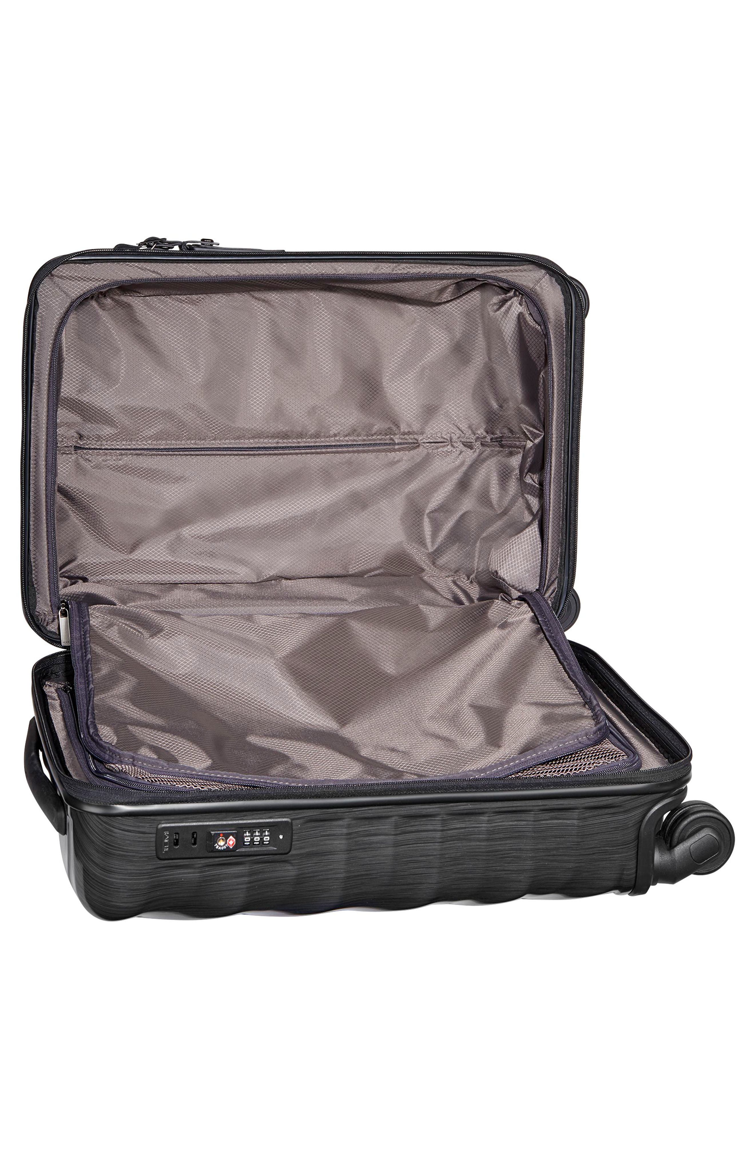 TUMI, 19 Degree 21-Inch International Wheeled Carry-On, Alternate thumbnail 5, color, 001