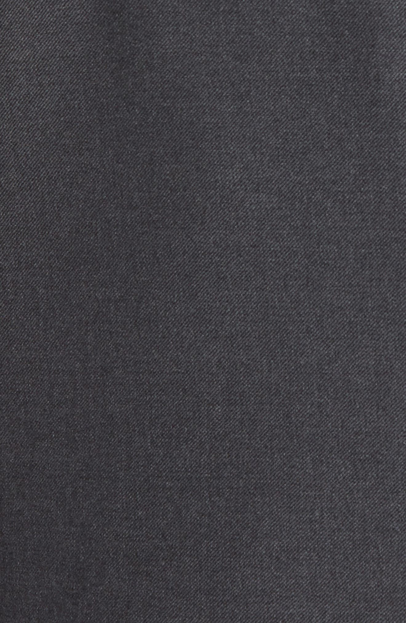 HICKEY FREEMAN, Classic B Fit Loro Piana Wool Suit, Alternate thumbnail 7, color, GREY