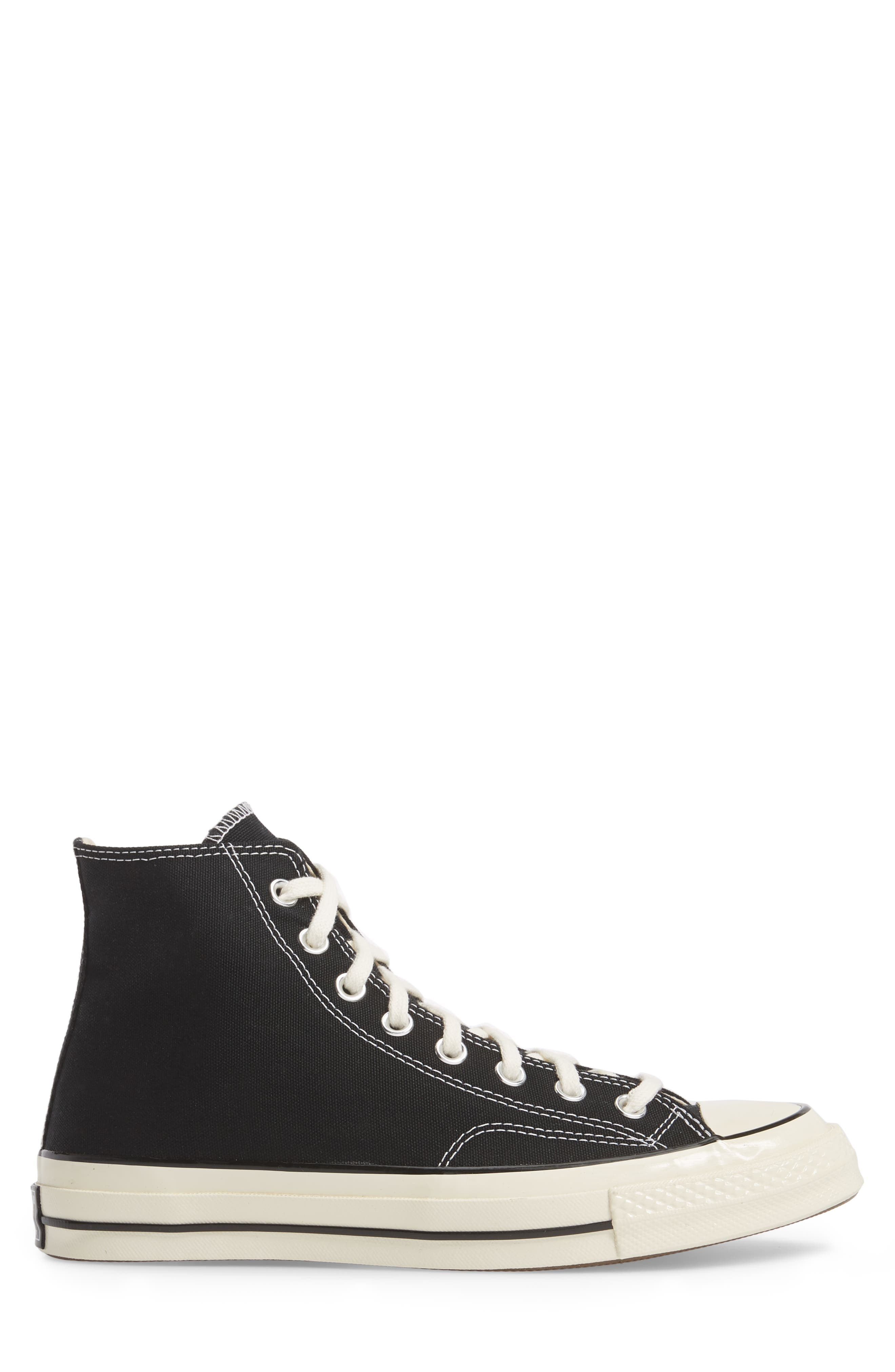 CONVERSE, Chuck Taylor<sup>®</sup> All Star<sup>®</sup> 70 High Top Sneaker, Alternate thumbnail 3, color, BLACK