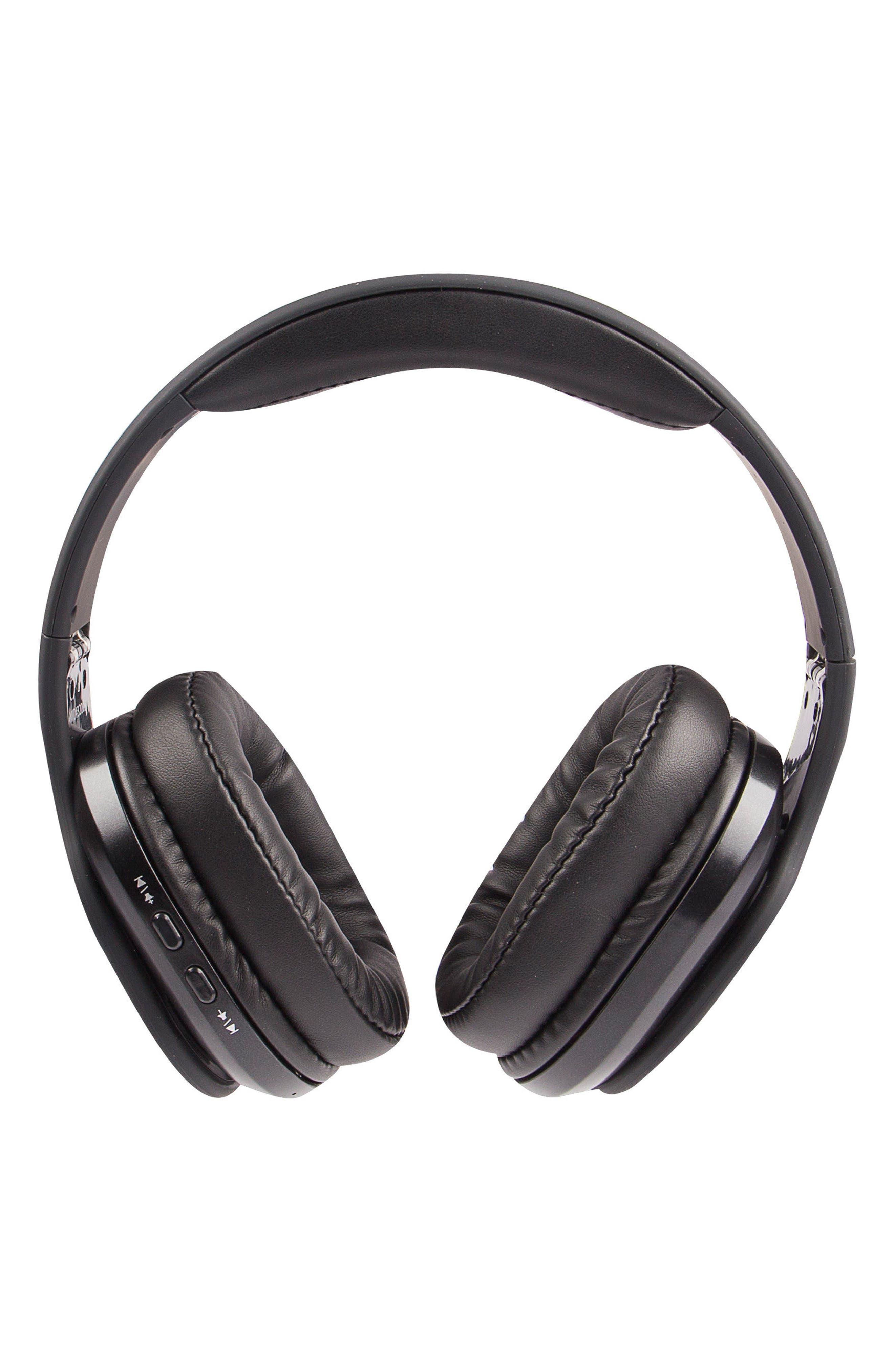 ALTEC LANSING Evolution 2 Wireless Headphones, Main, color, BLACK