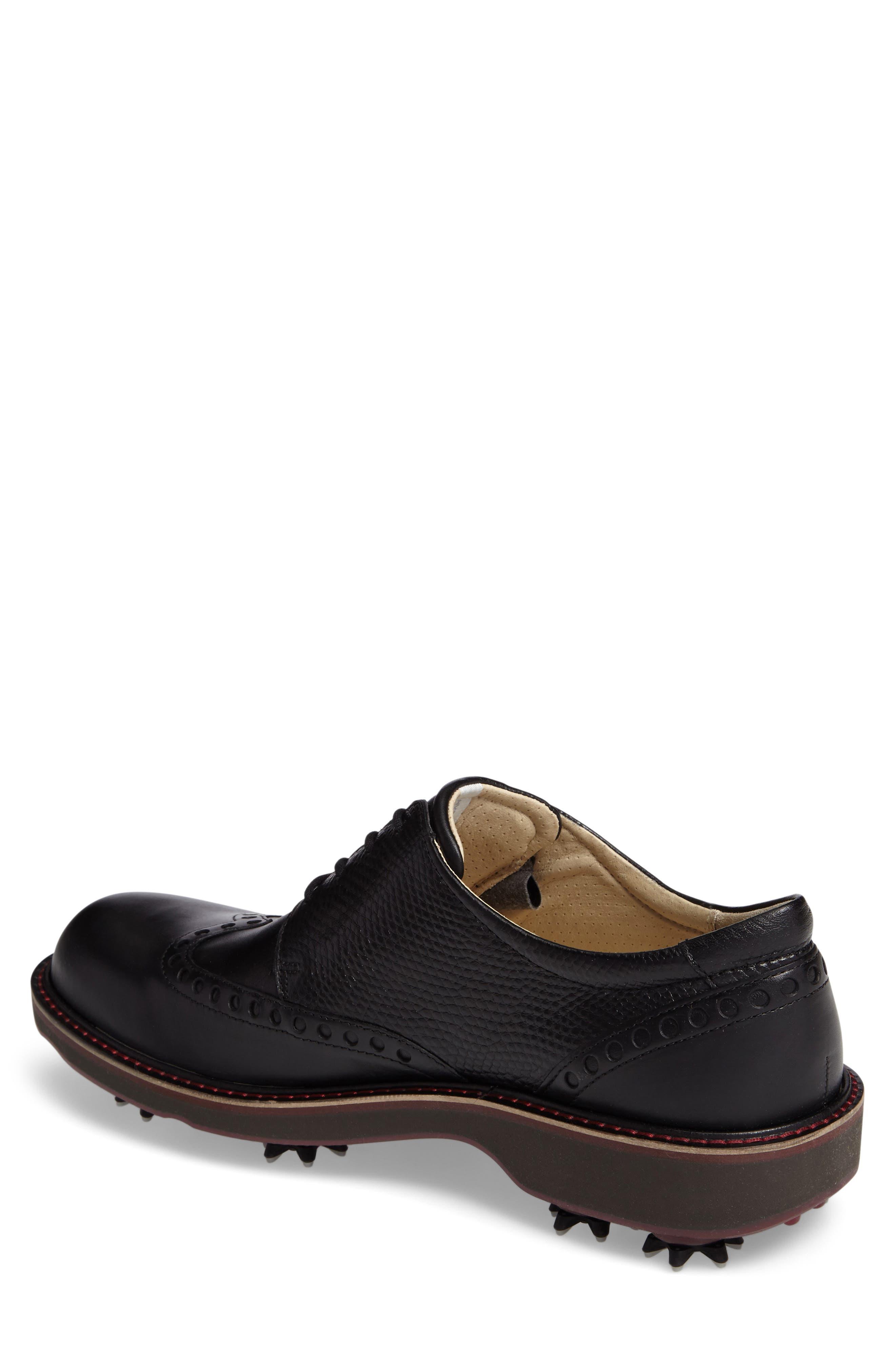 ECCO, Lux Golf Shoe, Alternate thumbnail 2, color, 001