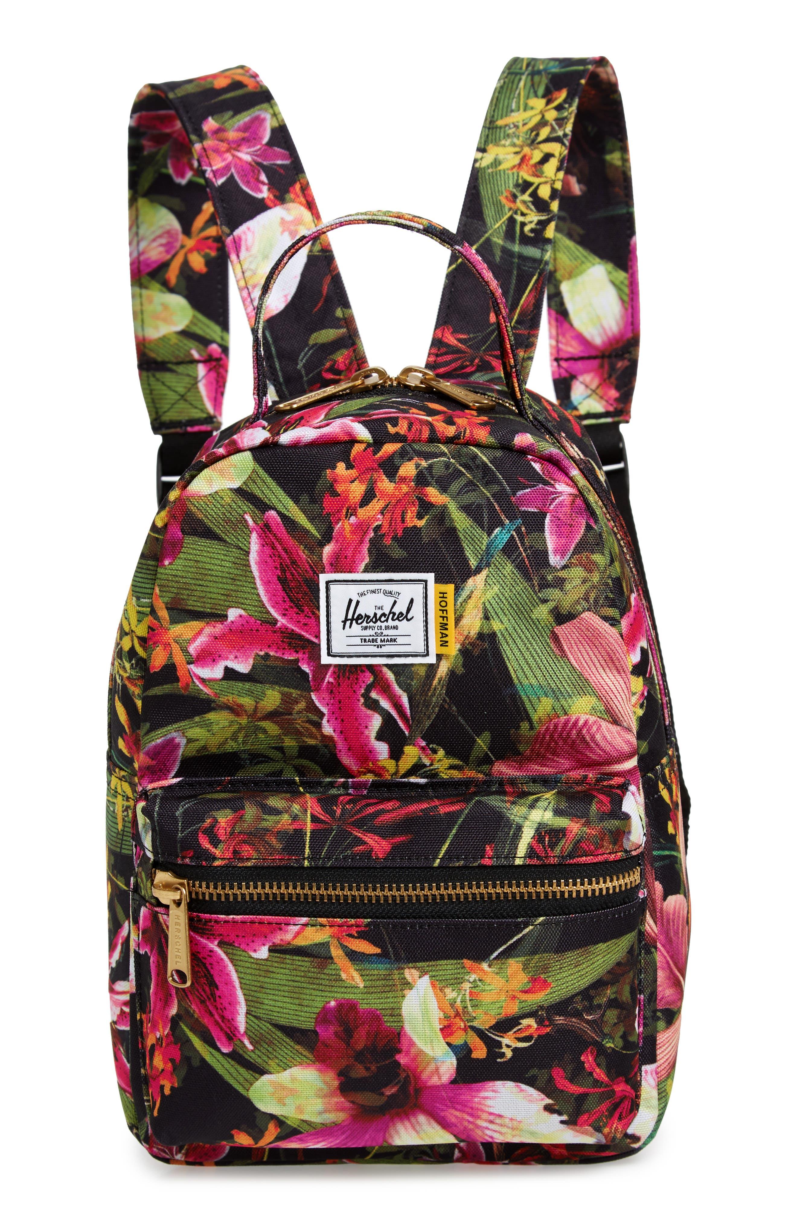 HERSCHEL SUPPLY CO. Mini Nova Backpack, Main, color, JUNGLE HOFFMAN