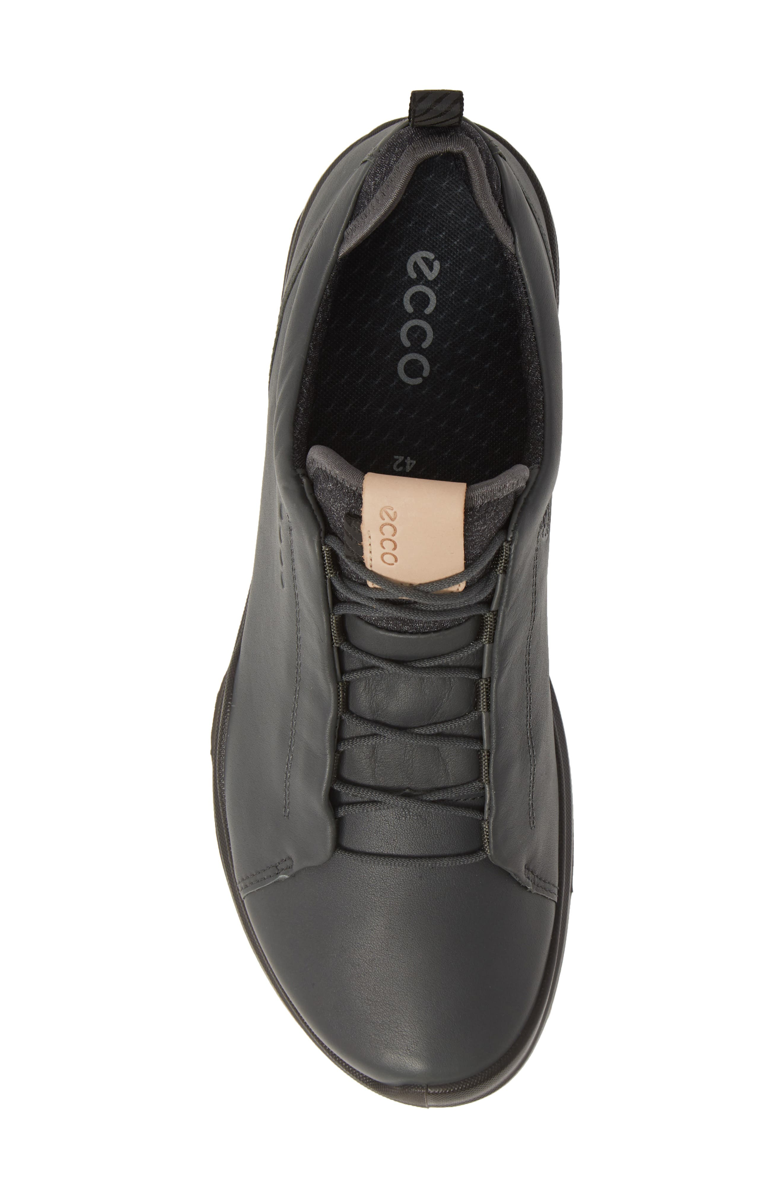ECCO, BIOM<sup>®</sup> Hybrid 3 OL Gore-Tex<sup>®</sup> Golf Shoe, Alternate thumbnail 5, color, DARK SHADOW LEATHER