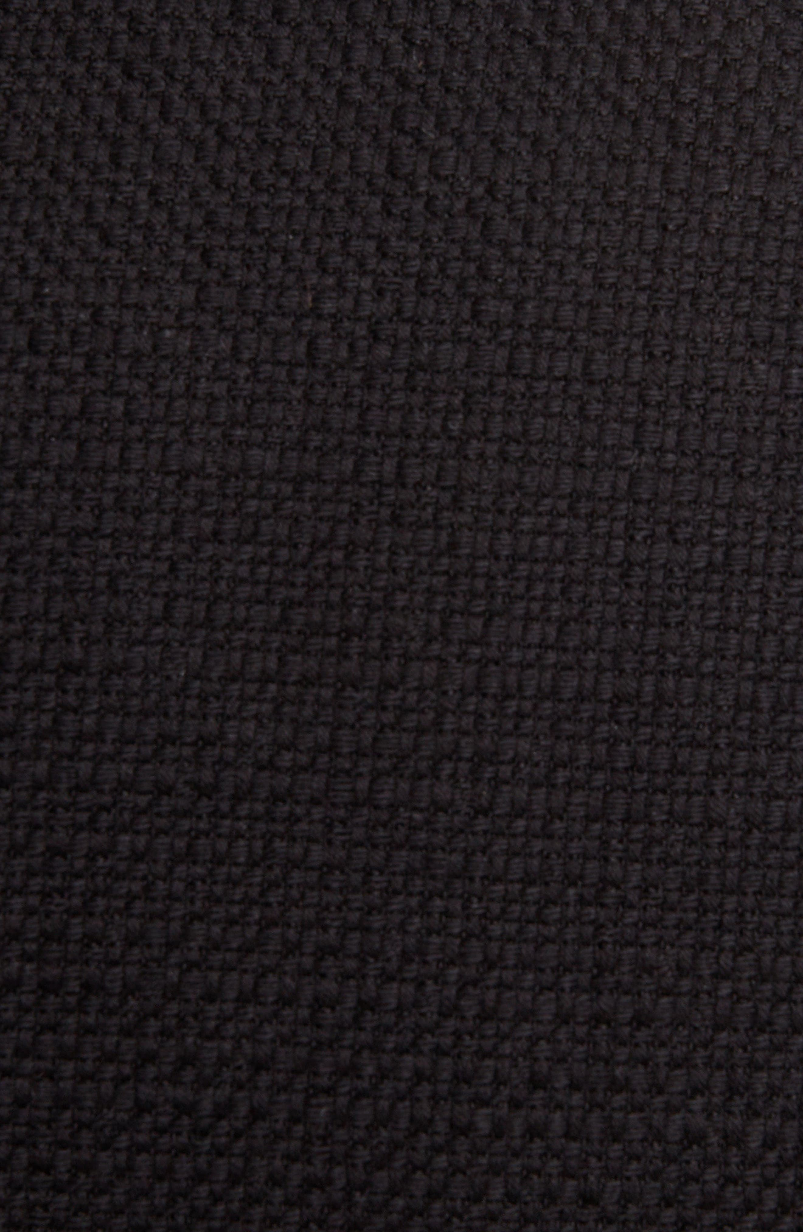 BALMAIN, Double Breasted Wool Blazer, Alternate thumbnail 5, color, BLACK/GOLD
