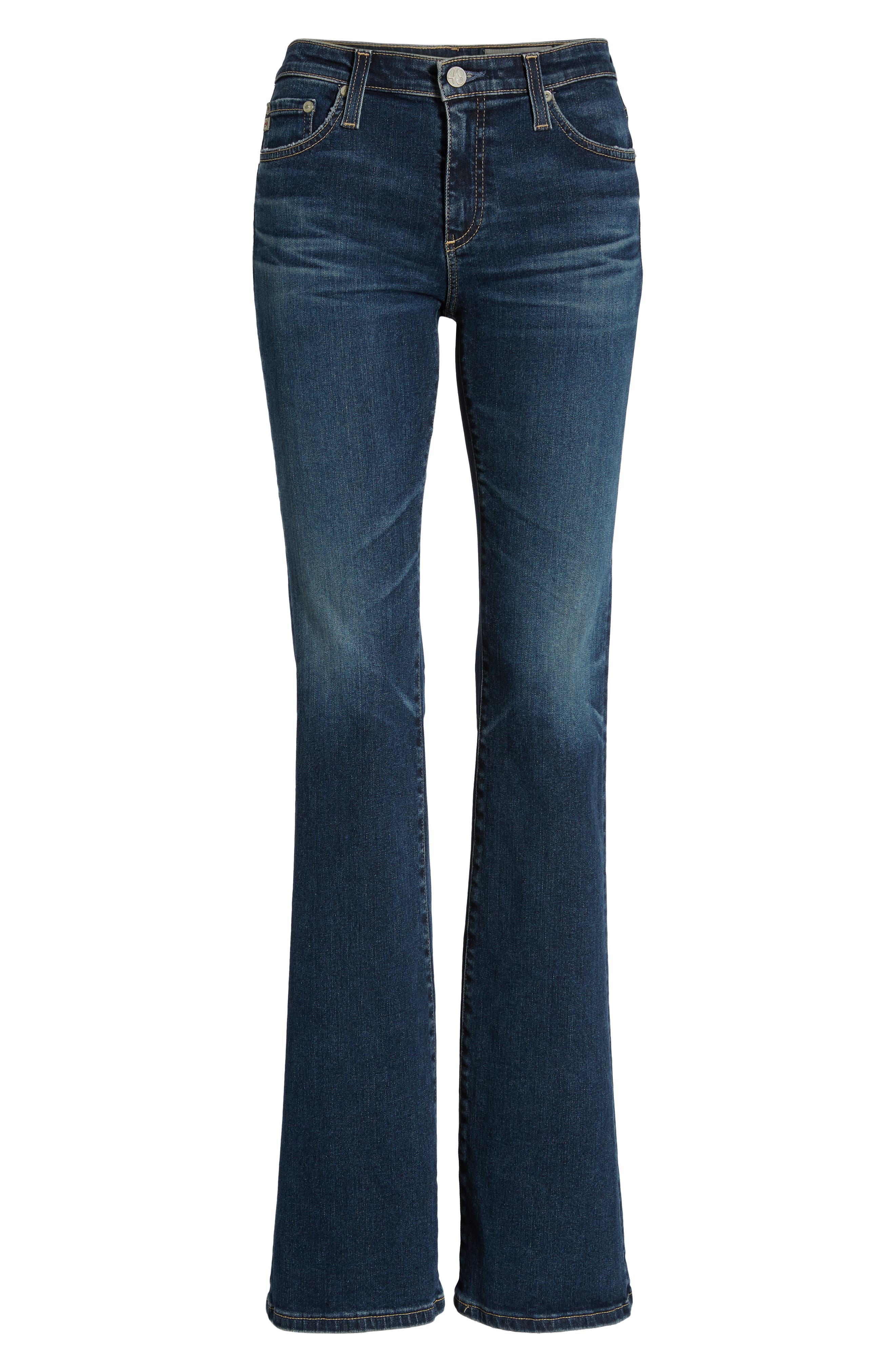 AG, Angel Flare Jeans, Alternate thumbnail 7, color, 10Y TRANSCENDENCE