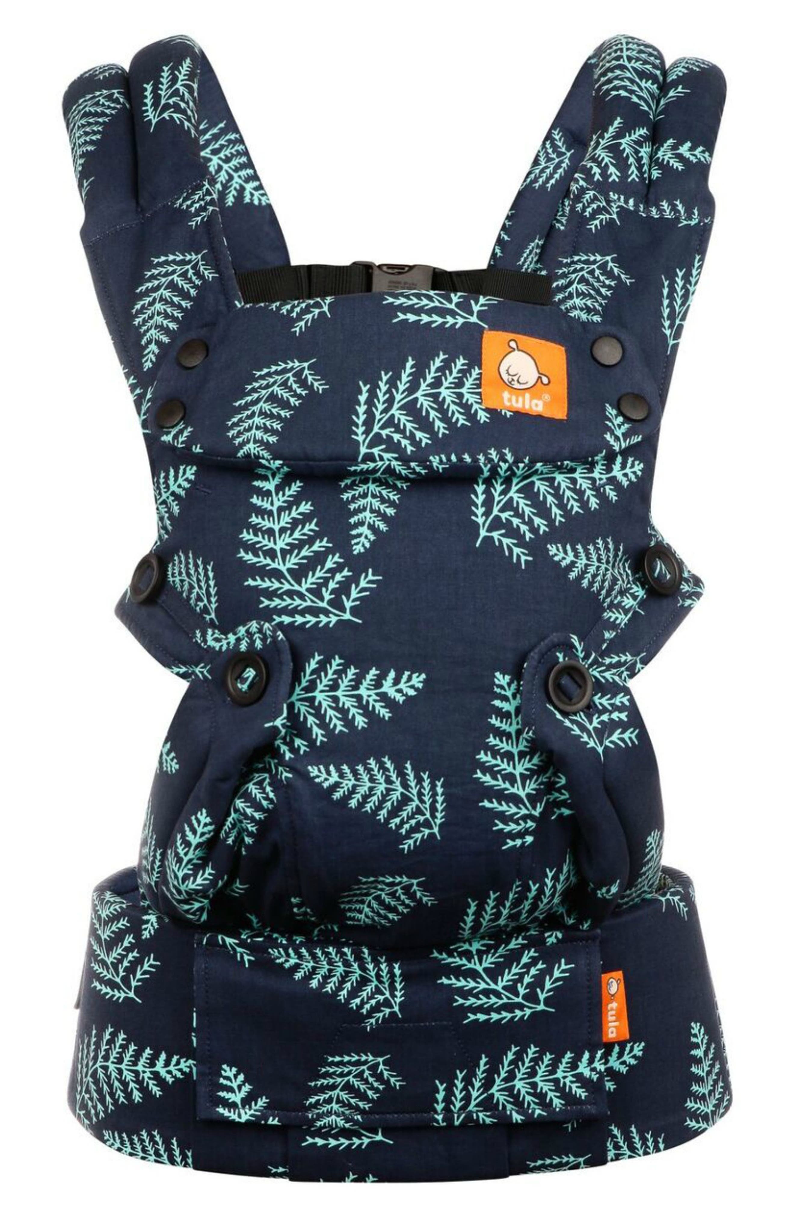 BABY TULA Explore Front/Back Baby Carrier, Main, color, EVER BLUE