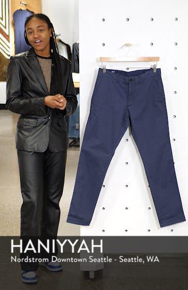 Ballard Slim Fit Stretch Chino Pants, sales video thumbnail