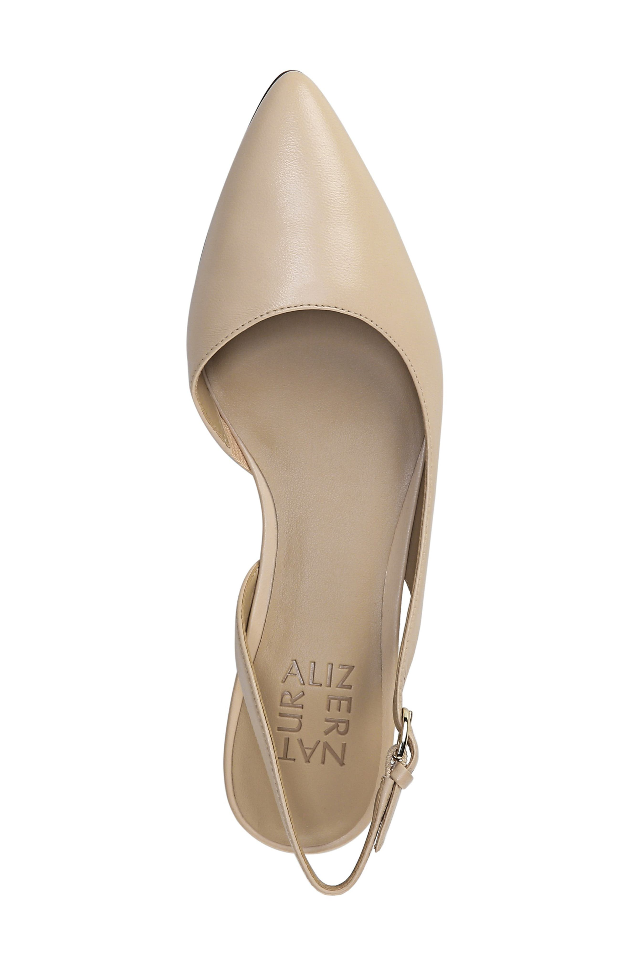 NATURALIZER, Banks Pump, Alternate thumbnail 5, color, SOFT NUDE LEATHER