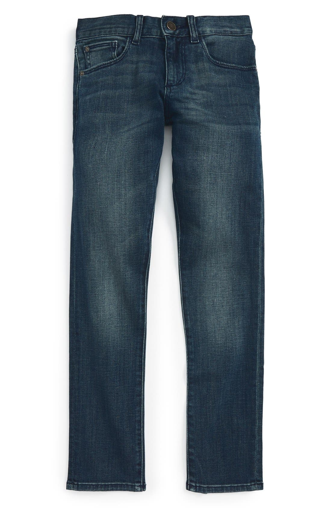 DL1961, 'Hawke' Skinny Jeans, Main thumbnail 1, color, SCABBARD