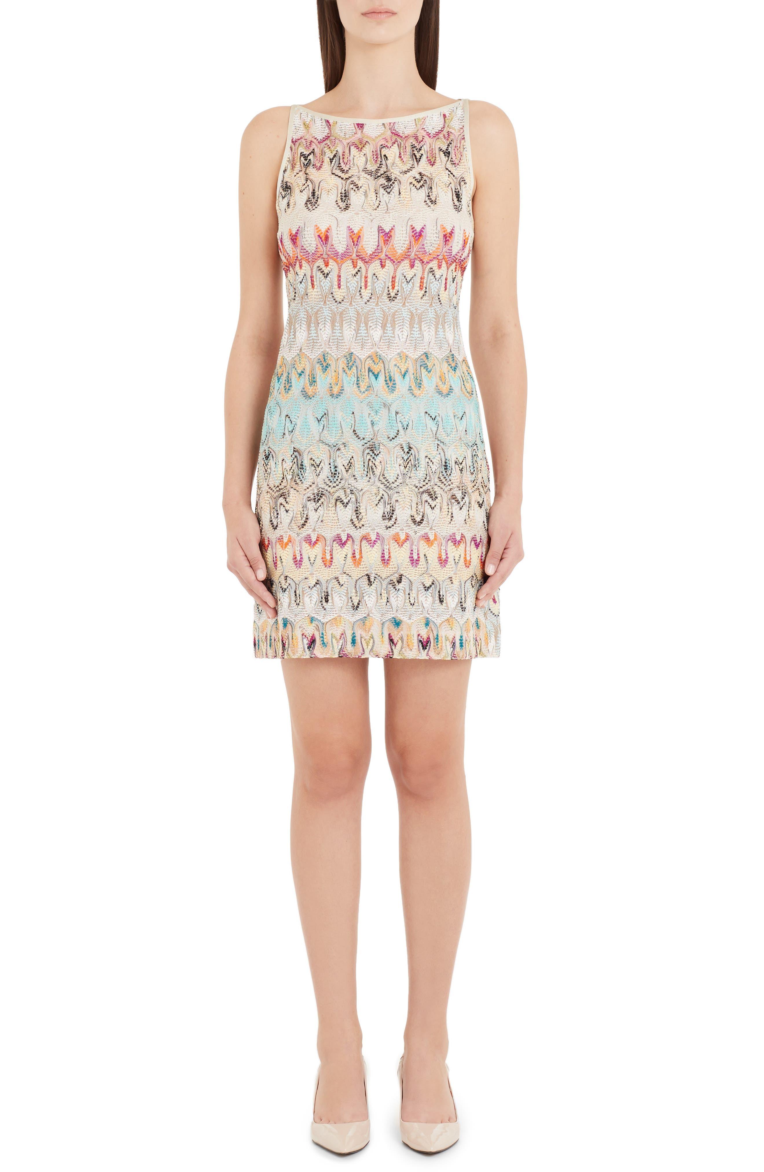 8f28fa884a9f Missoni Leaf Lace Knit Dress