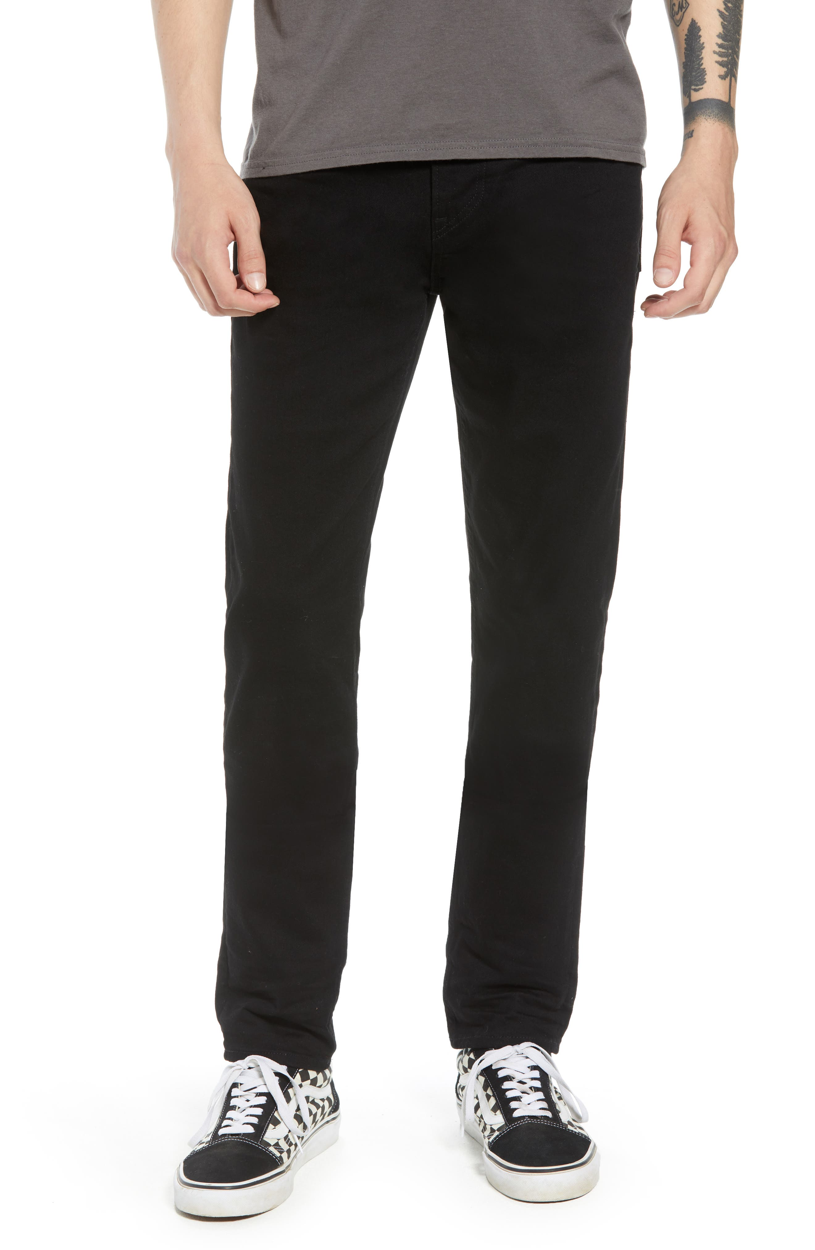 HUDSON JEANS, Hudson Axl Skinny Fit Jeans, Main thumbnail 1, color, HASKETT