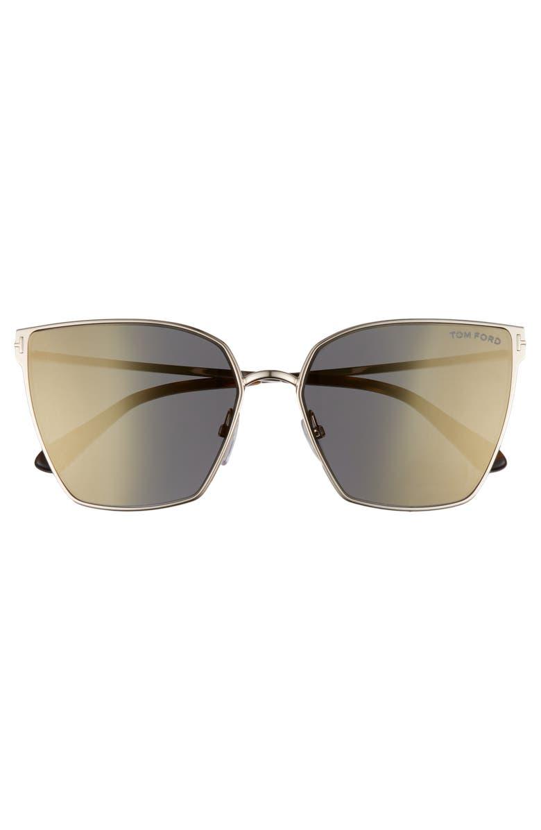 89d5202c0197 Tom Ford Helena 59Mm Cat Eye Sunglasses - Rose Gold  Havana  Smoke ...