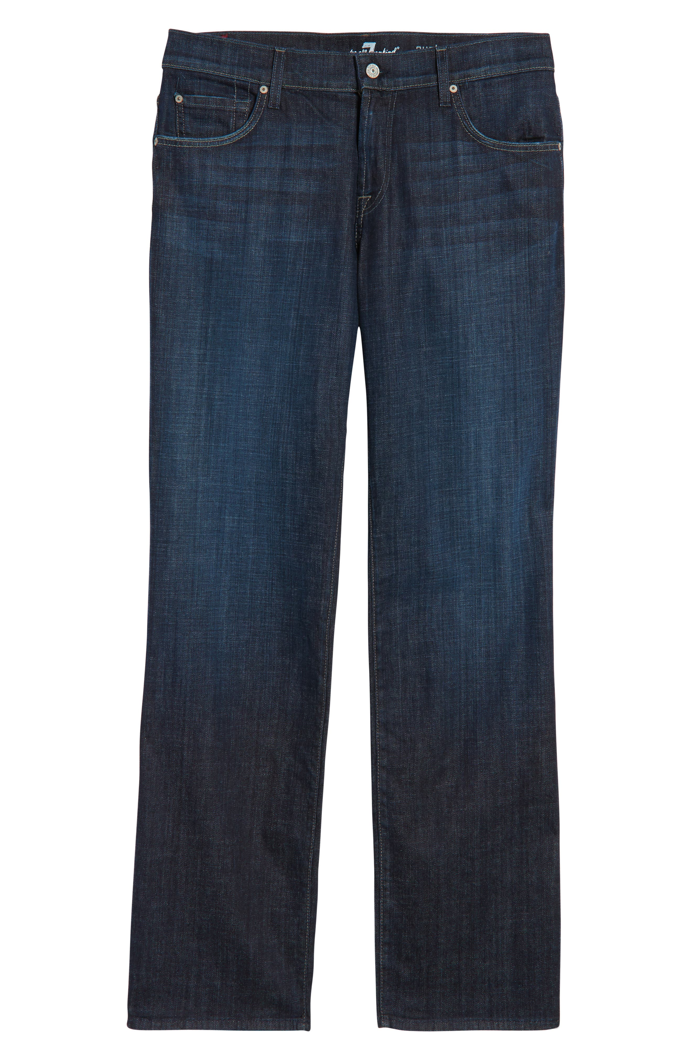 7 FOR ALL MANKIND<SUP>®</SUP> Austyn Relaxed Straight Leg Jeans, Main, color, LOS ANGELES DARK