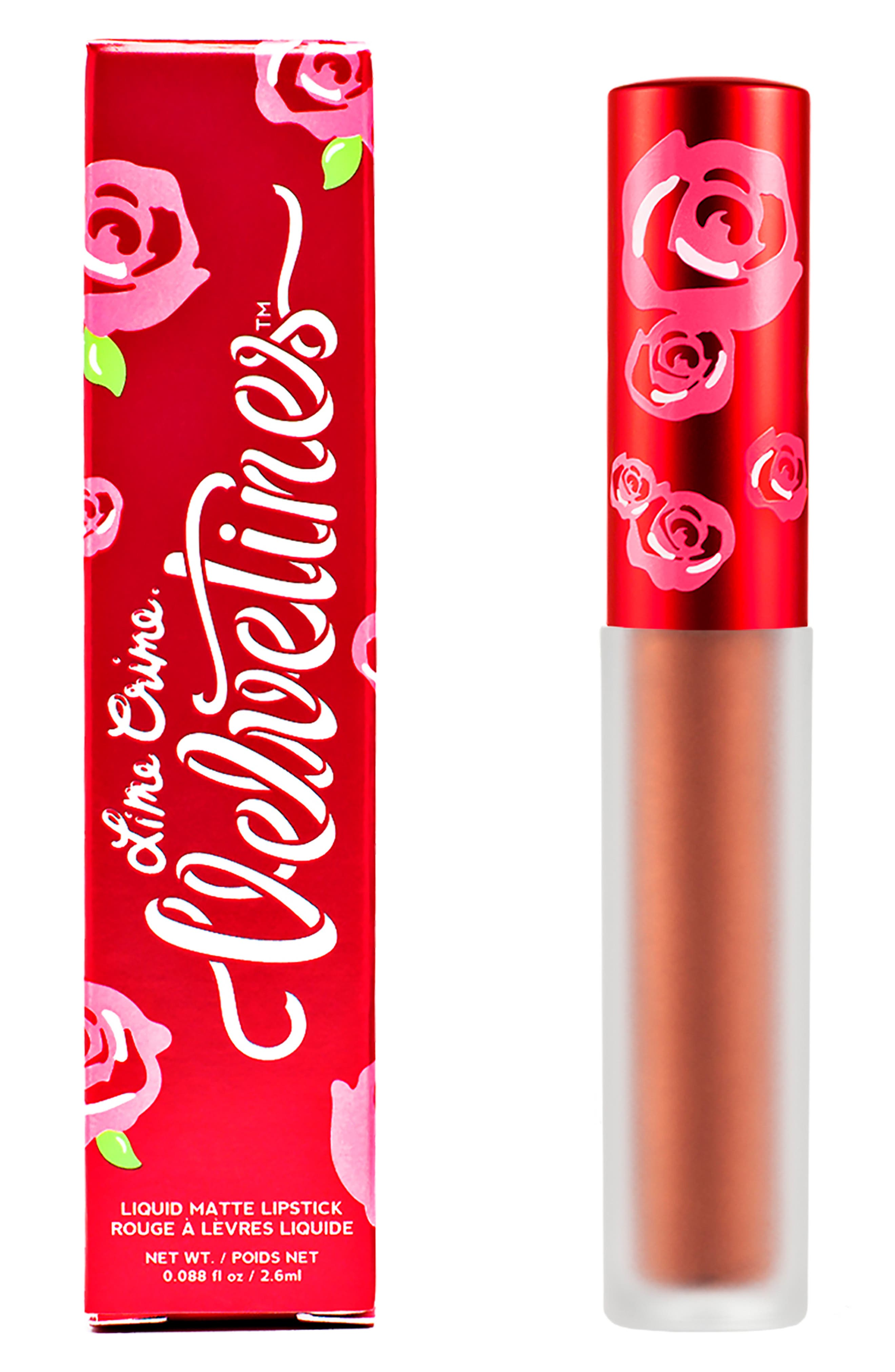 LIME CRIME, Velvetines Metallic Liquid Lipstick, Alternate thumbnail 3, color, LANA