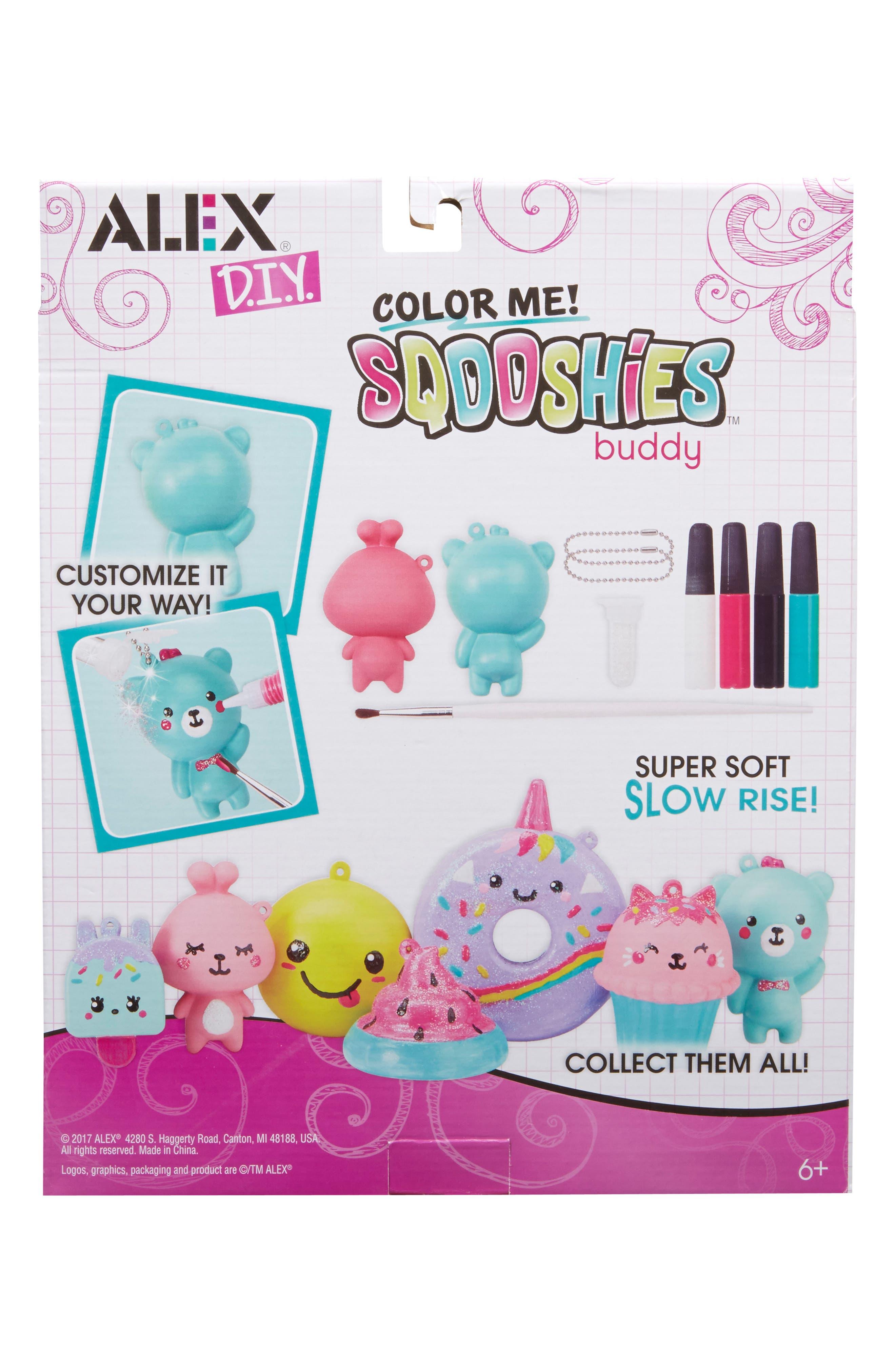 ALEX<SUP>®</SUP> TOYS, DIY Color Me Sqooshies - Buddy, Alternate thumbnail 2, color, 960