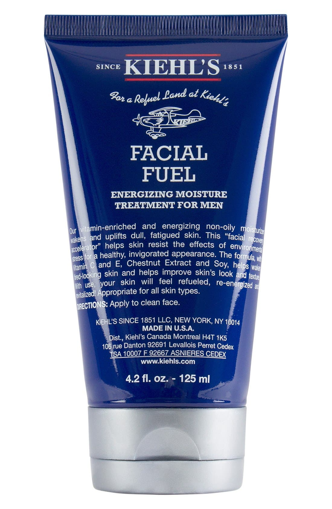 KIEHL'S SINCE 1851, 'Facial Fuel' Energizing Moisture Treatment for Men, Alternate thumbnail 3, color, 000