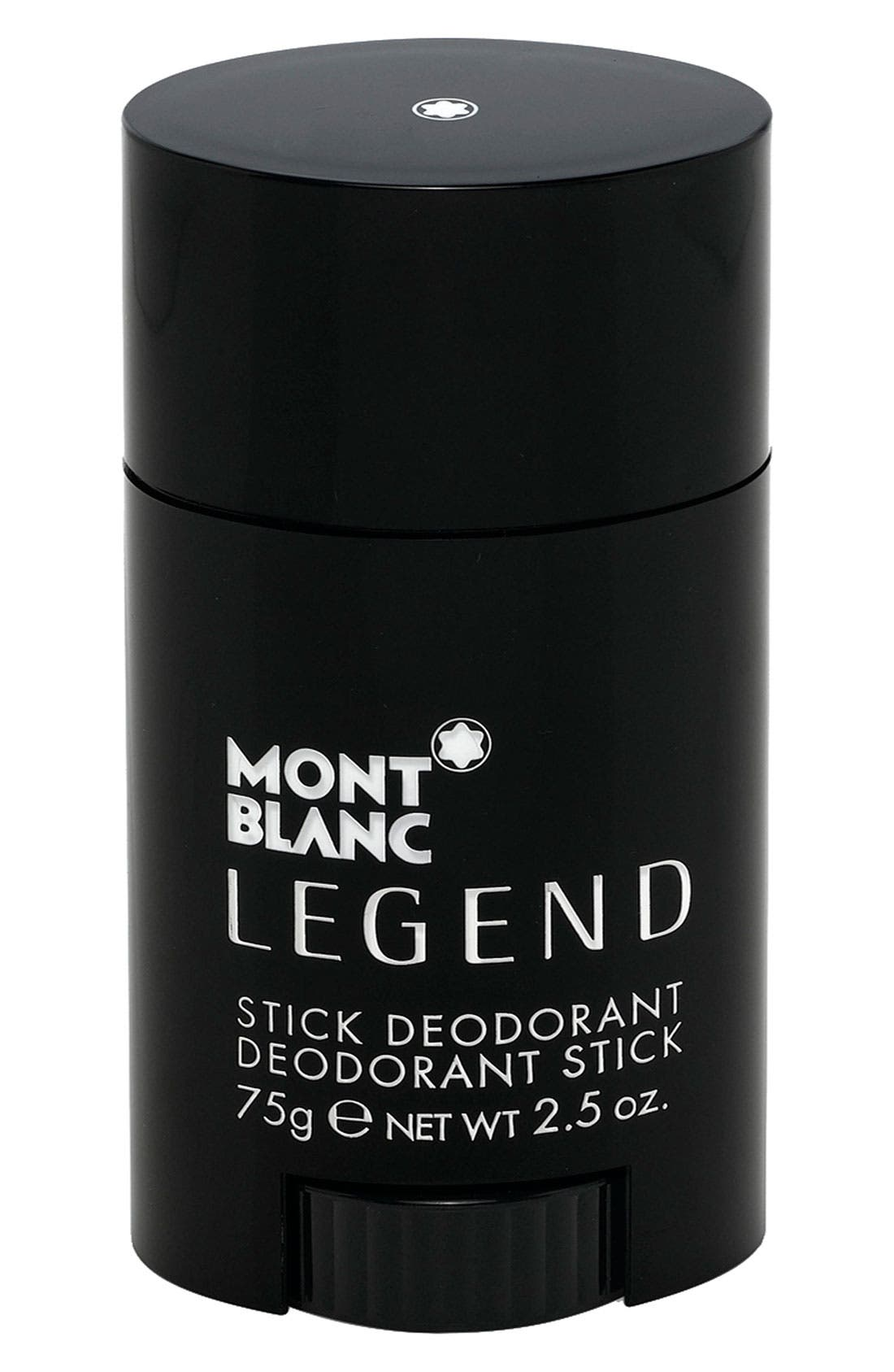 MONTBLANC, 'Legend' Deodorant Stick, Main thumbnail 1, color, 000