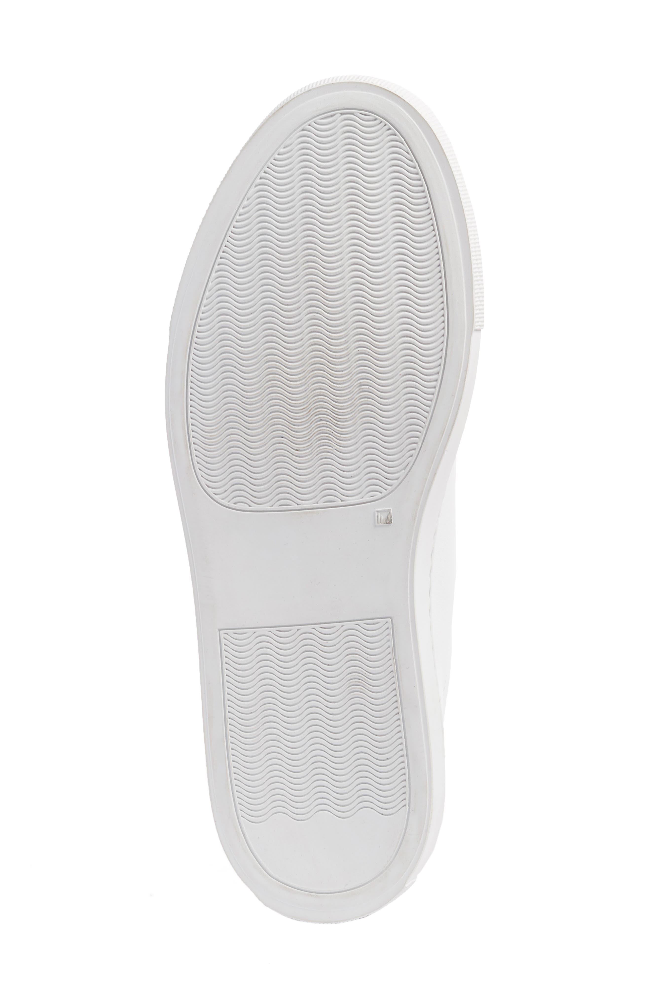 COMMON PROJECTS, Original Achilles Sneaker, Alternate thumbnail 6, color, WHITE LEATHER