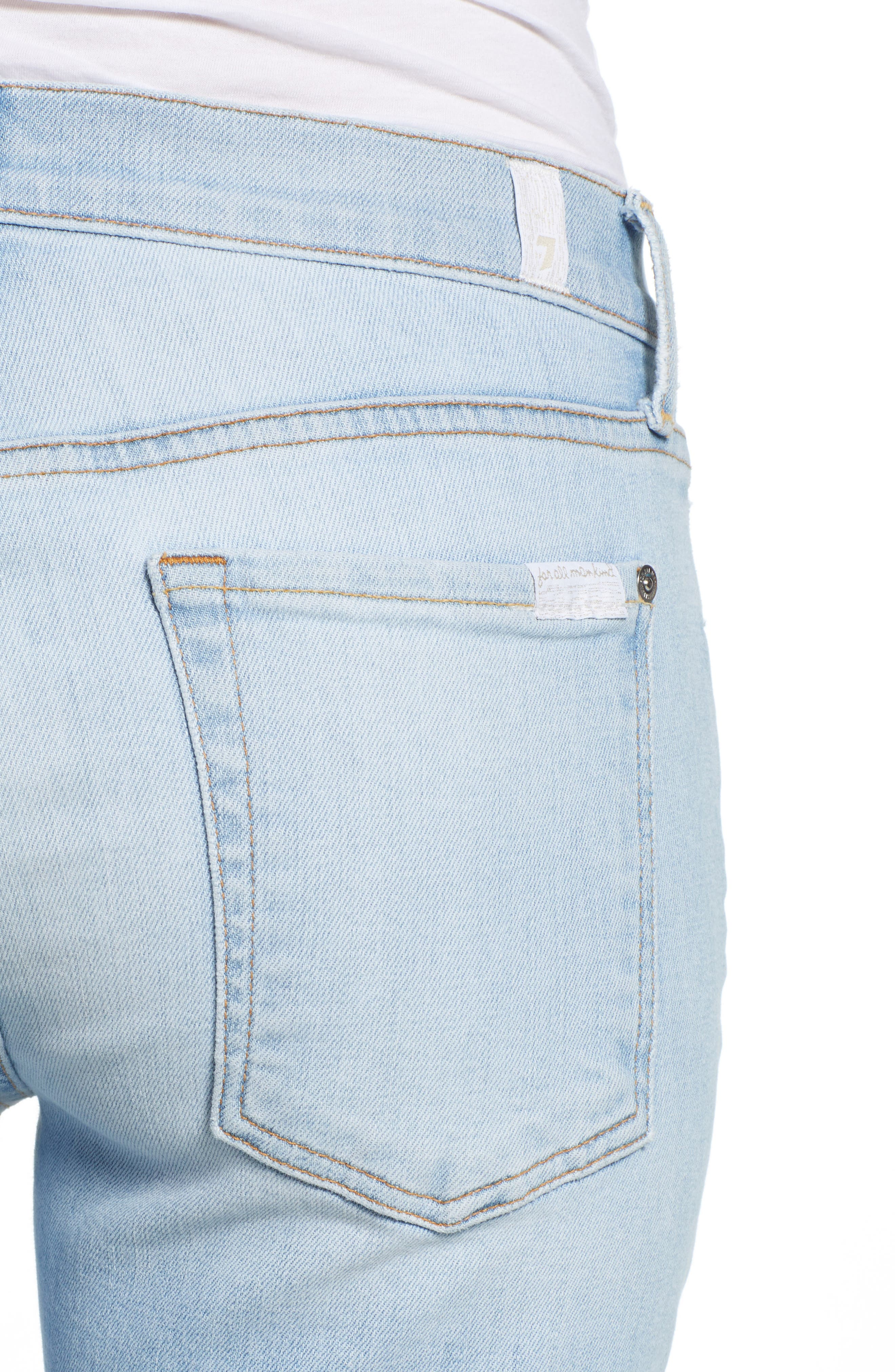 7 FOR ALL MANKIND<SUP>®</SUP>, 'Josefina' Boyfriend Jeans, Alternate thumbnail 5, color, 408