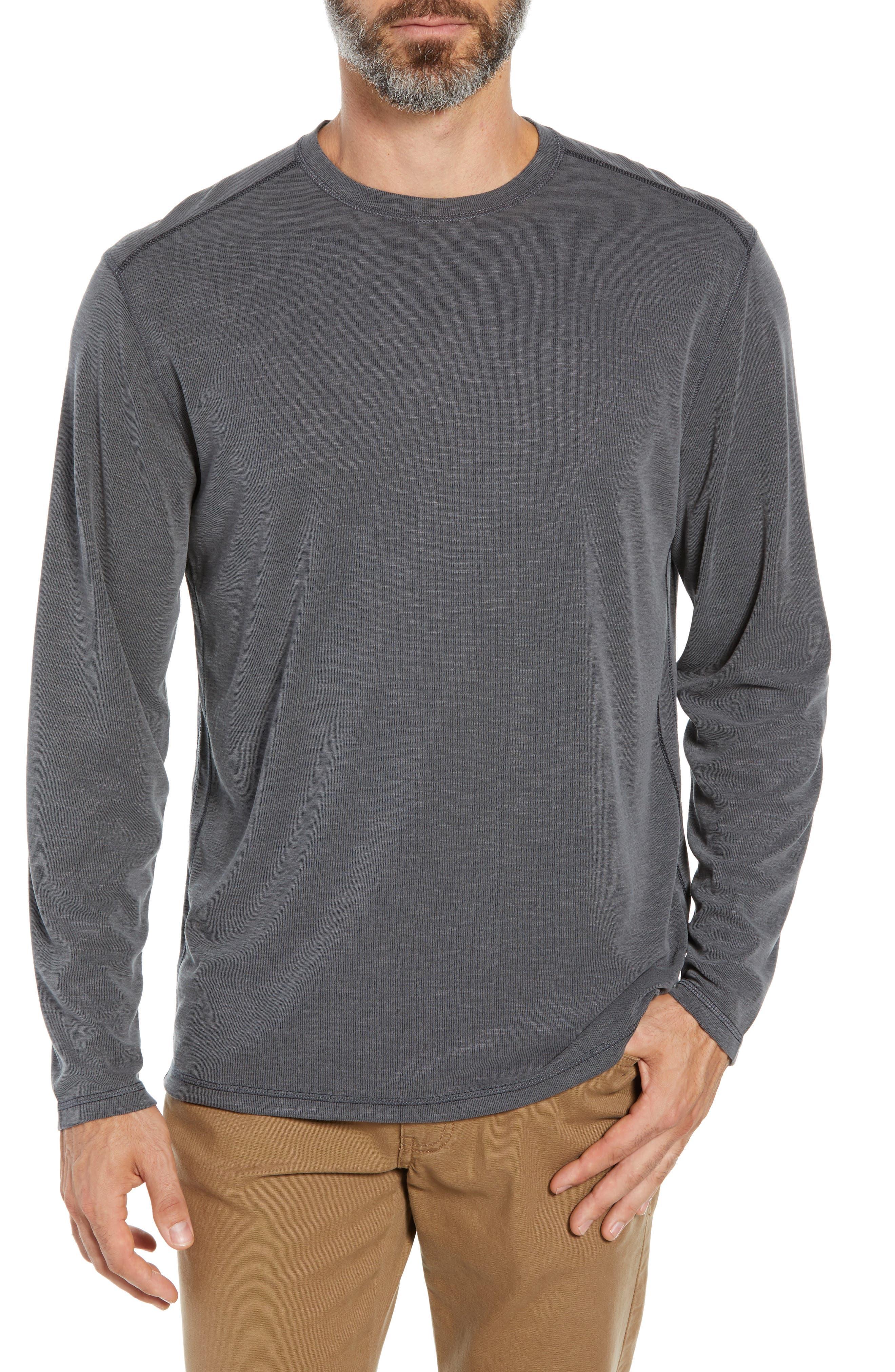 TOMMY BAHAMA Flip Tide T-shirt, Main, color, BLACK