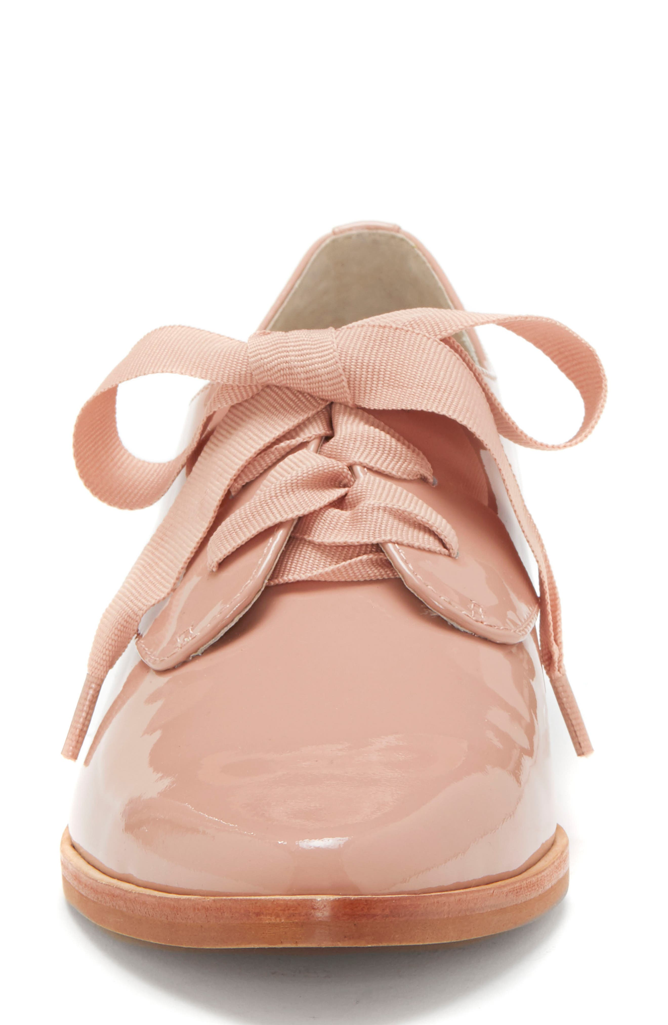LOUISE ET CIE, Adwin Almond Toe Oxford, Alternate thumbnail 4, color, FOUNDATION PATENT