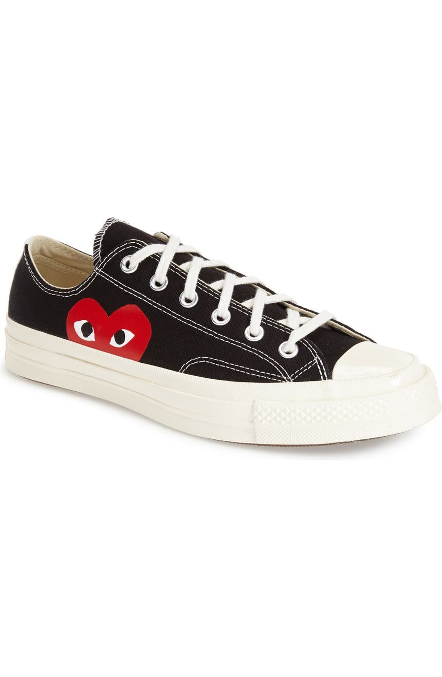 2b5979c5797f Comme des Garçons PLAY x Converse Chuck Taylor® Low Top Sneaker (Men ...