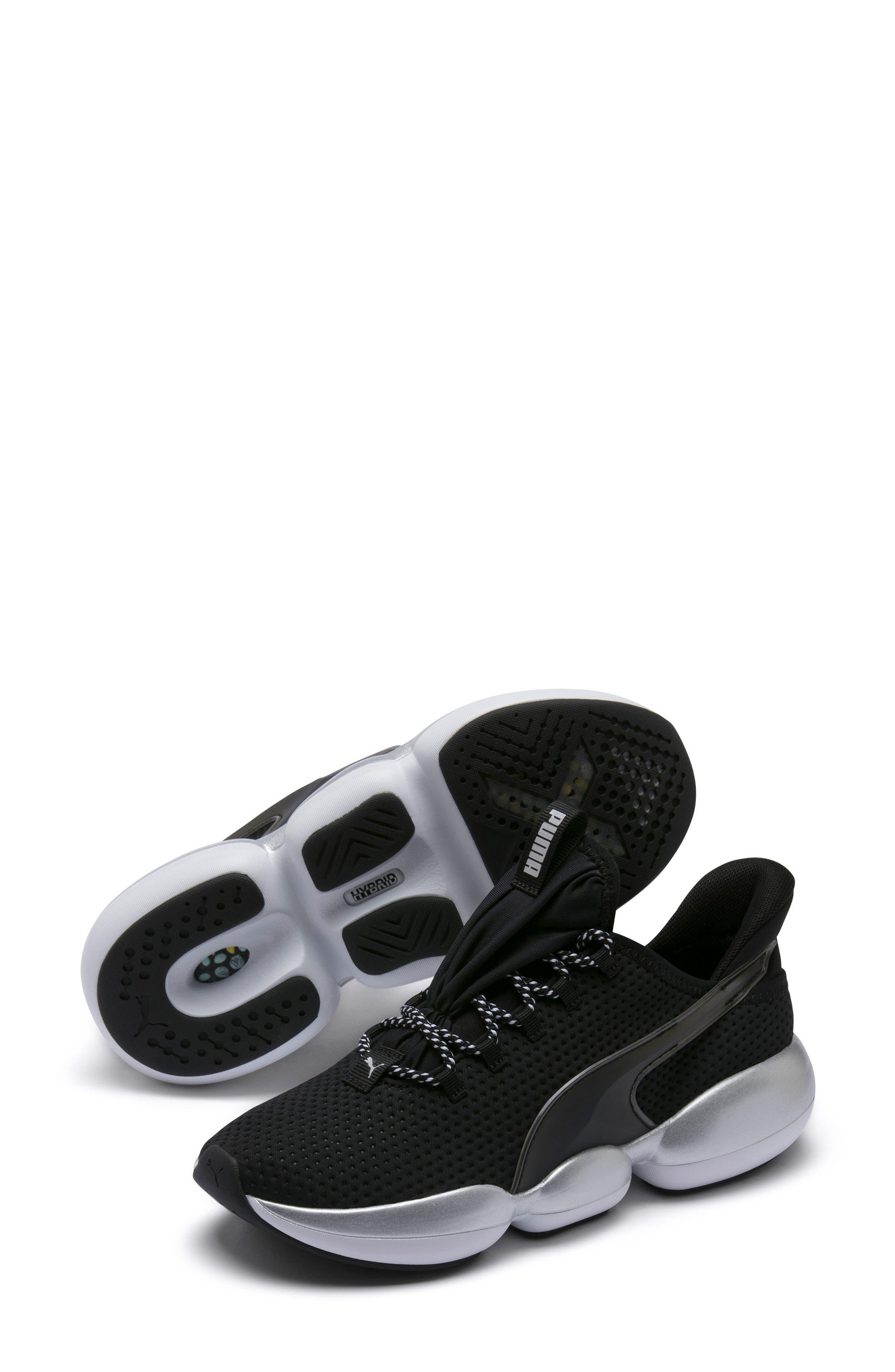 PUMA, Mode XT Hybrid Training Shoe, Alternate thumbnail 7, color, BLACK